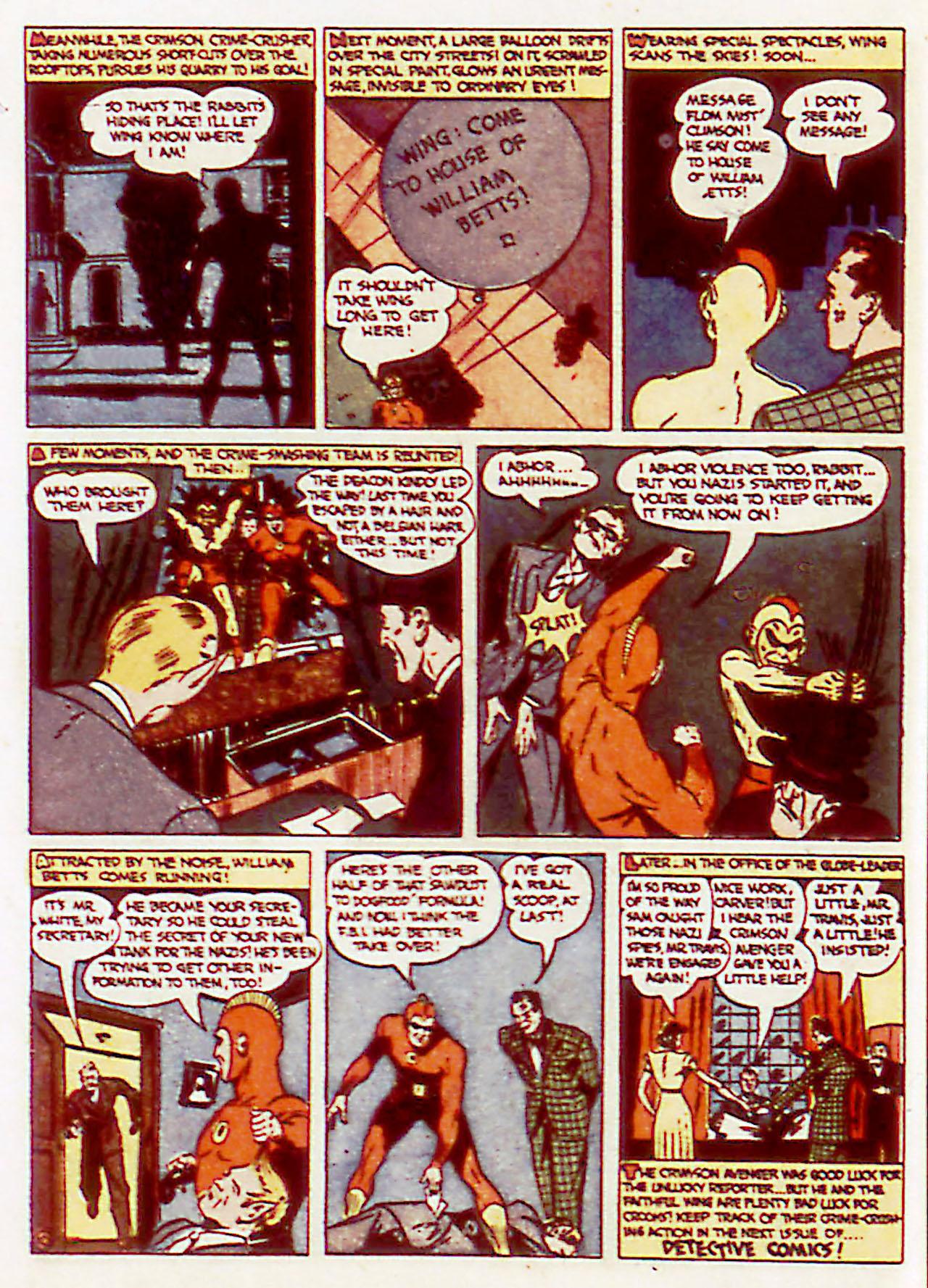 Read online Detective Comics (1937) comic -  Issue #71 - 40