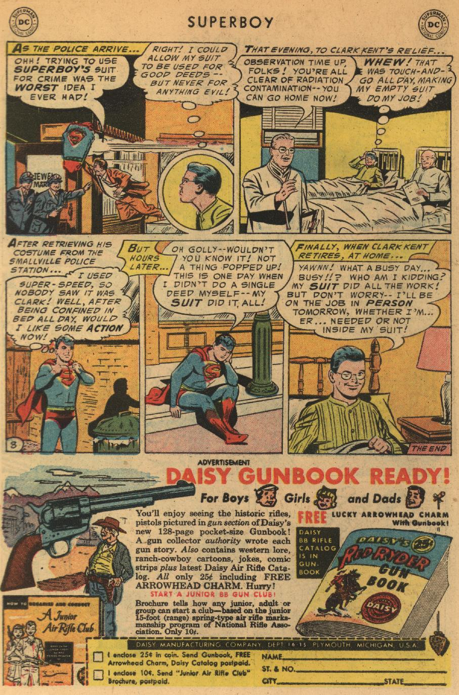 Superboy (1949) issue 44 - Page 9