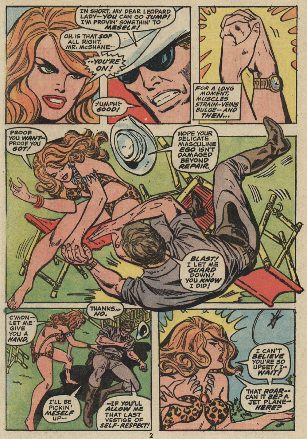 Read online Shanna, the She-Devil (1972) comic -  Issue #5 - 3