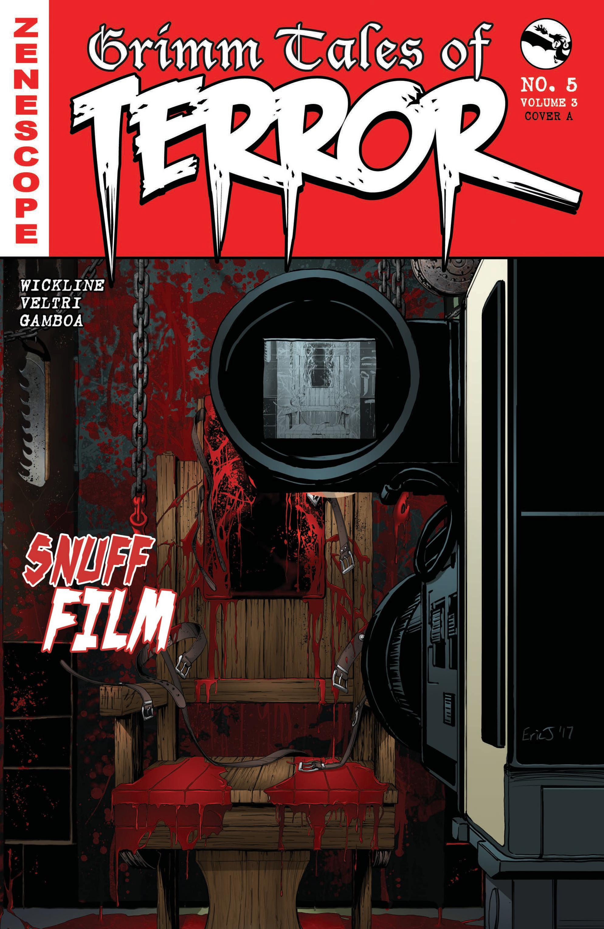 Read online Grimm Tales of Terror: Vol. 3 comic -  Issue #5 - 1