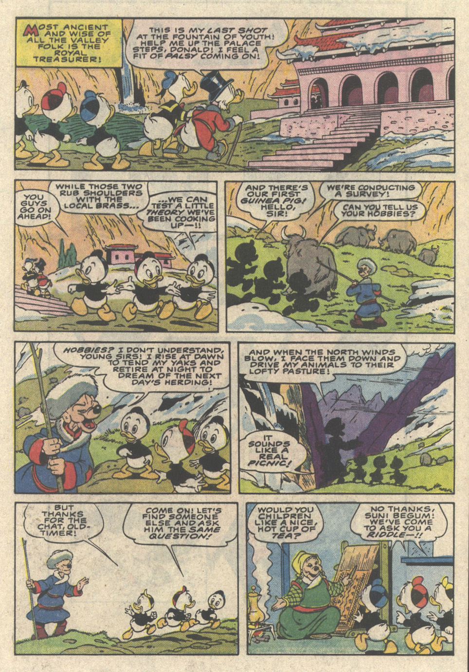 Read online Uncle Scrooge (1953) comic -  Issue #216 - 9