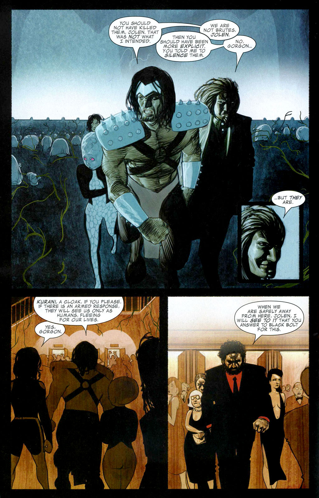 Read online Silent War comic -  Issue #1 - 8