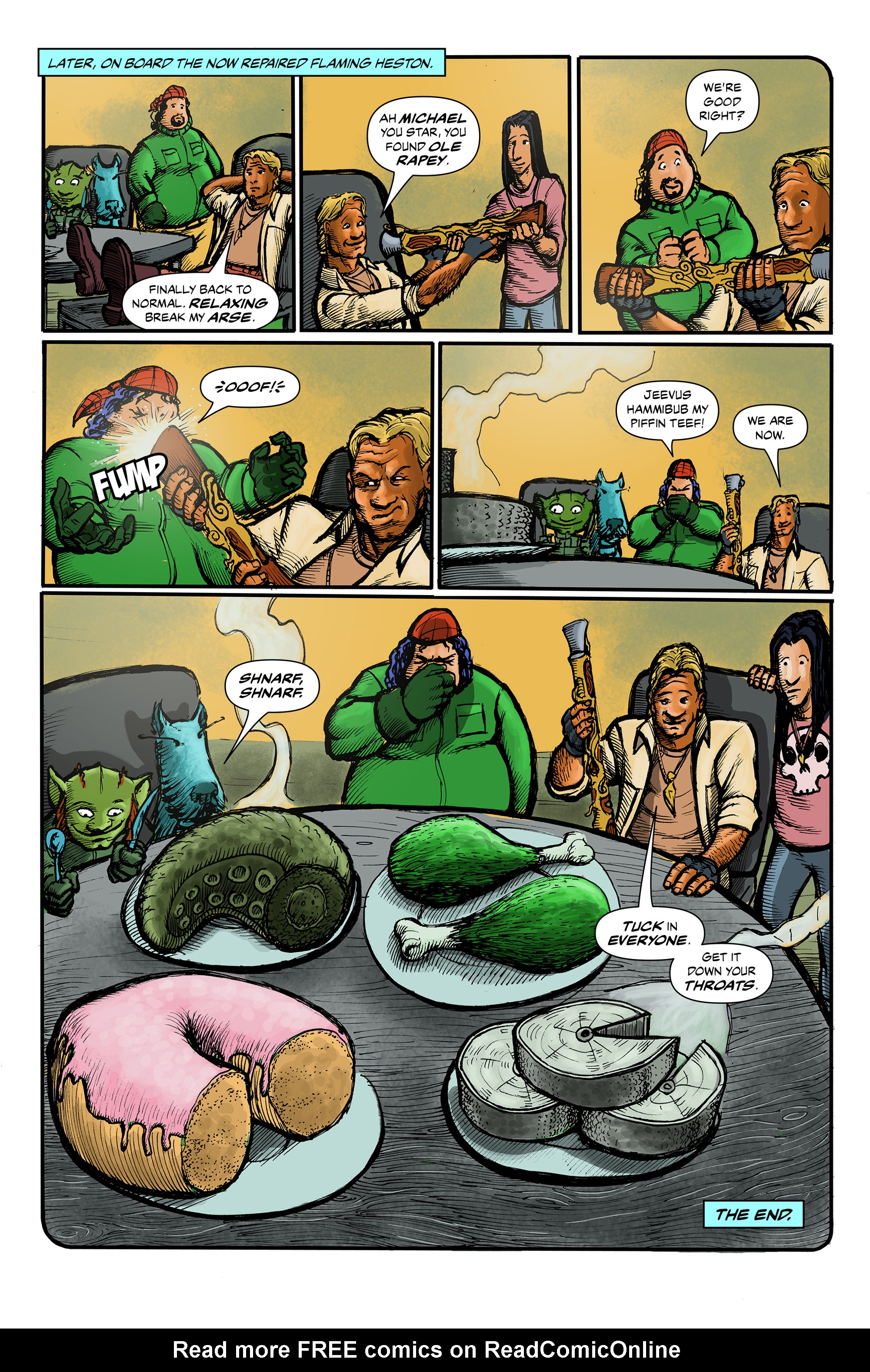 Read online 100% Biodegradable comic -  Issue #12 - 9