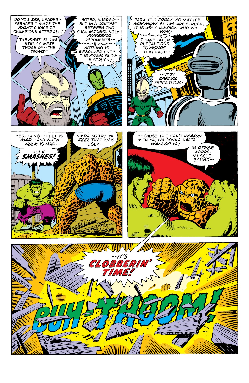 Read online Marvel Two-In-One Epic Collection: Cry Monster comic -  Issue # TPB (Part 1) - 17