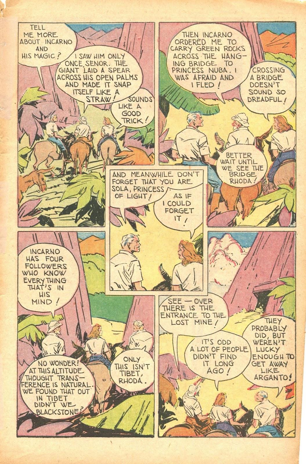 Read online Super-Magician Comics comic -  Issue #35 - 5
