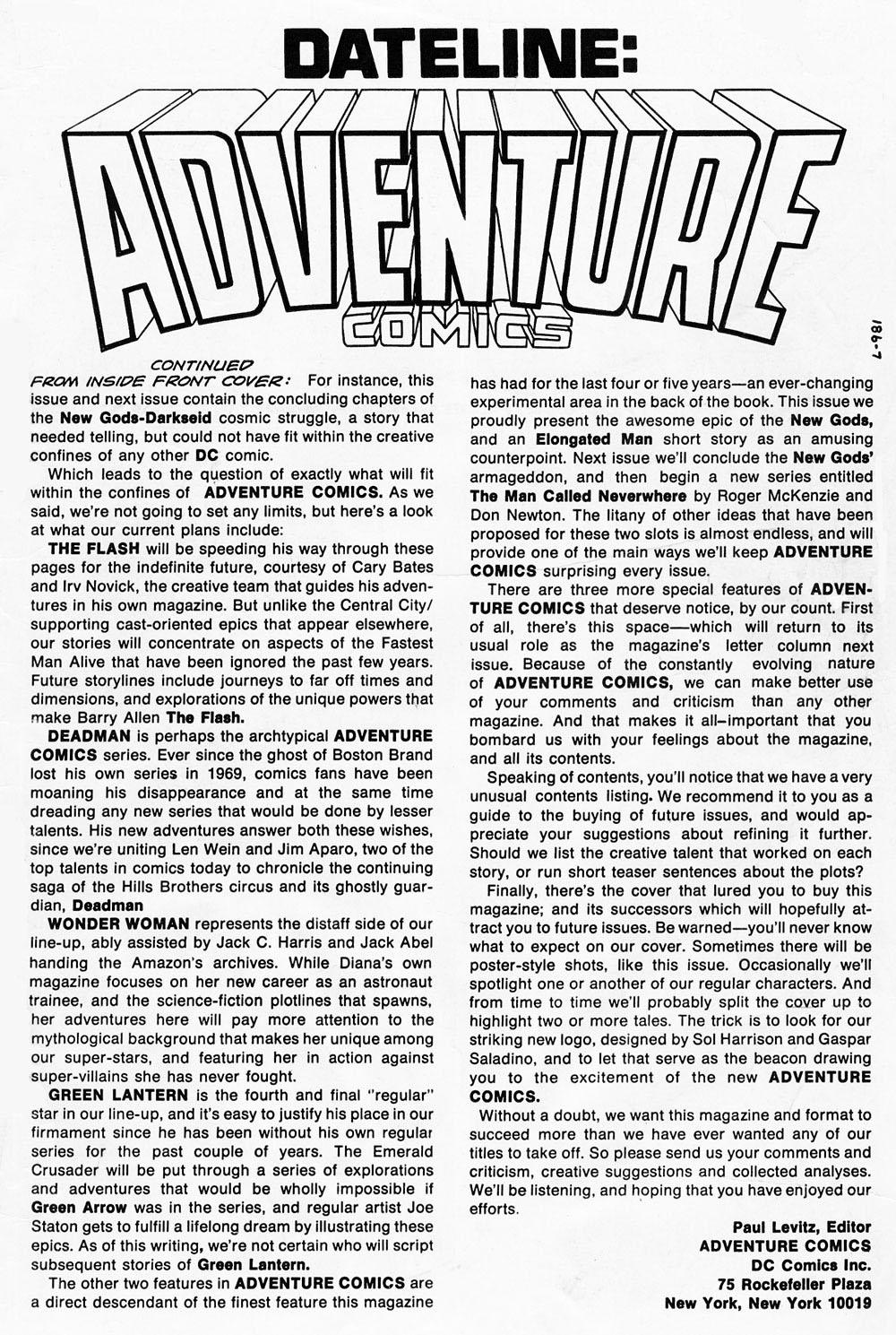 Read online Adventure Comics (1938) comic -  Issue #459 - 65