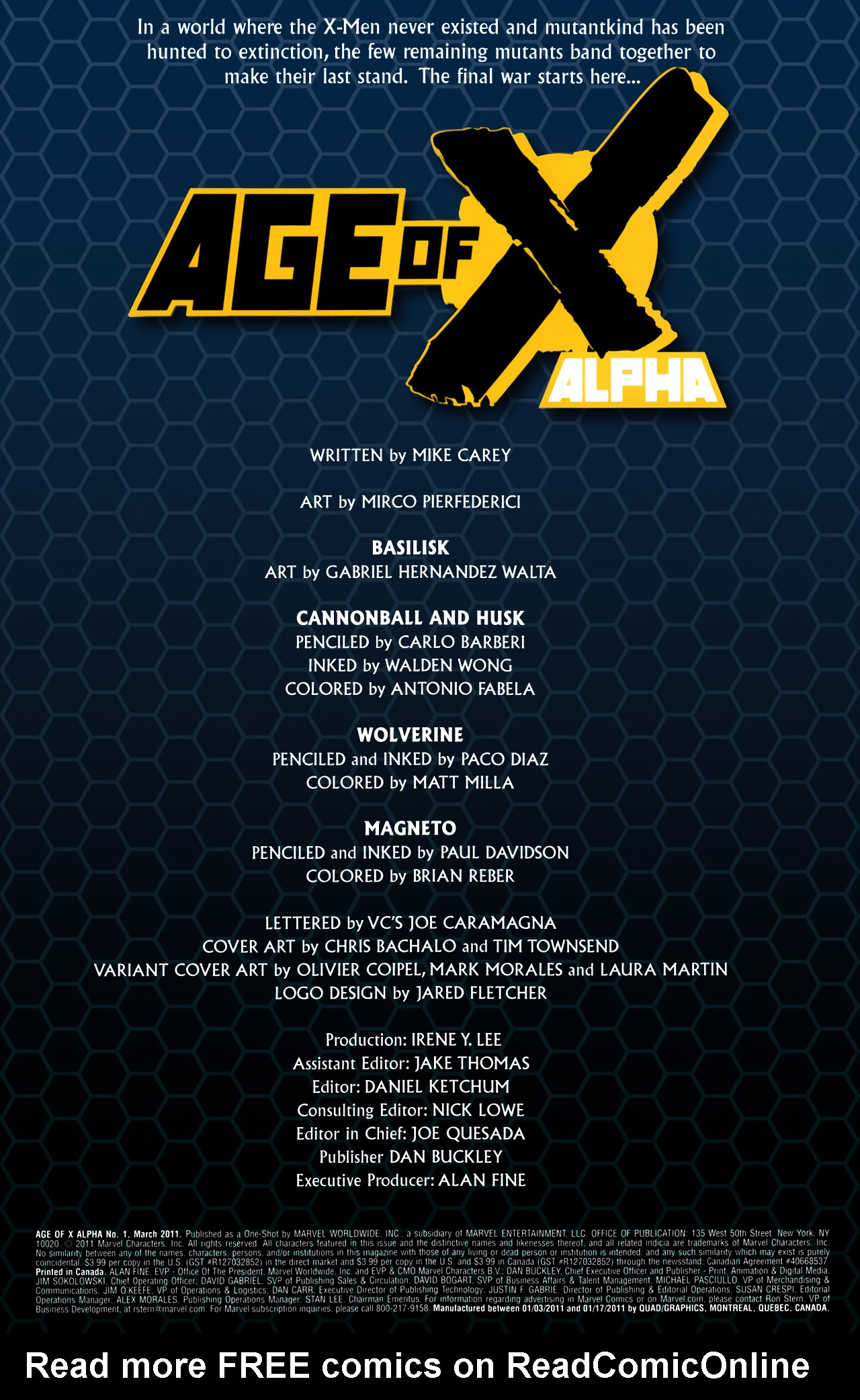 Read online Age of X: Alpha comic -  Issue #Age of X: Alpha Full - 6