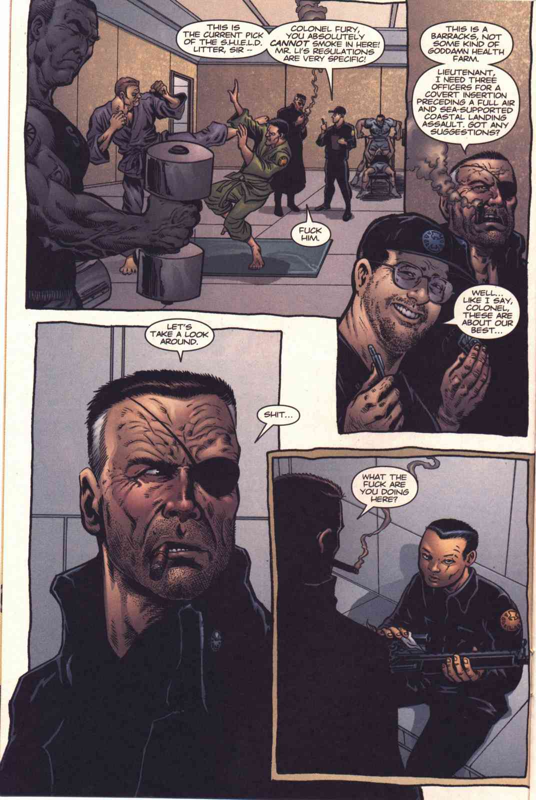 Read online Fury comic -  Issue #3 - 7