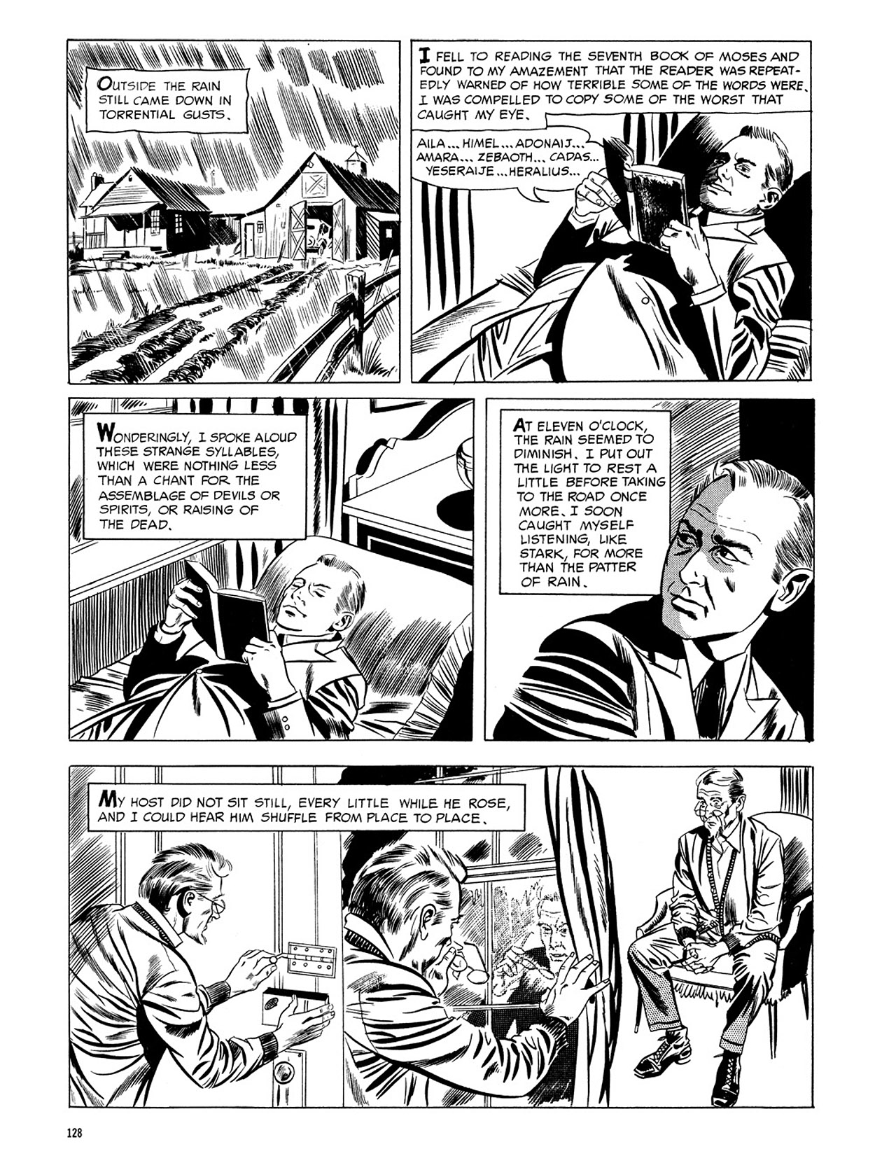 Read online Eerie Archives comic -  Issue # TPB 3 - 129
