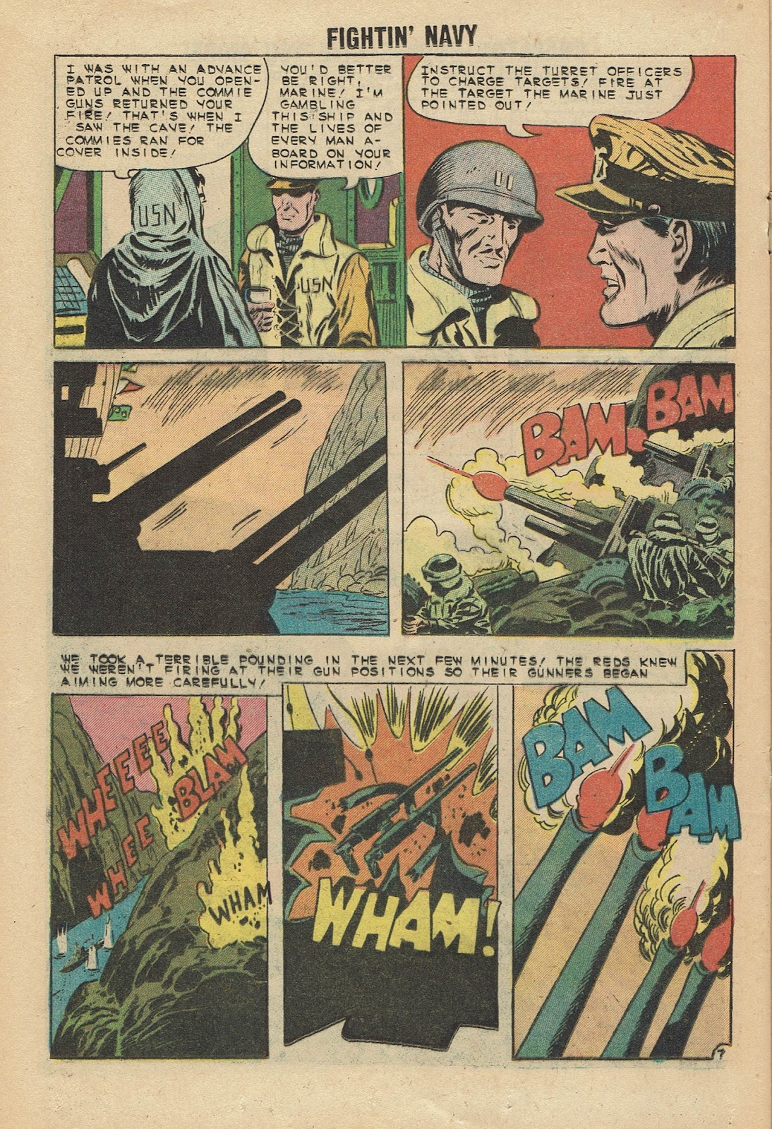 Read online Fightin' Navy comic -  Issue #96 - 20