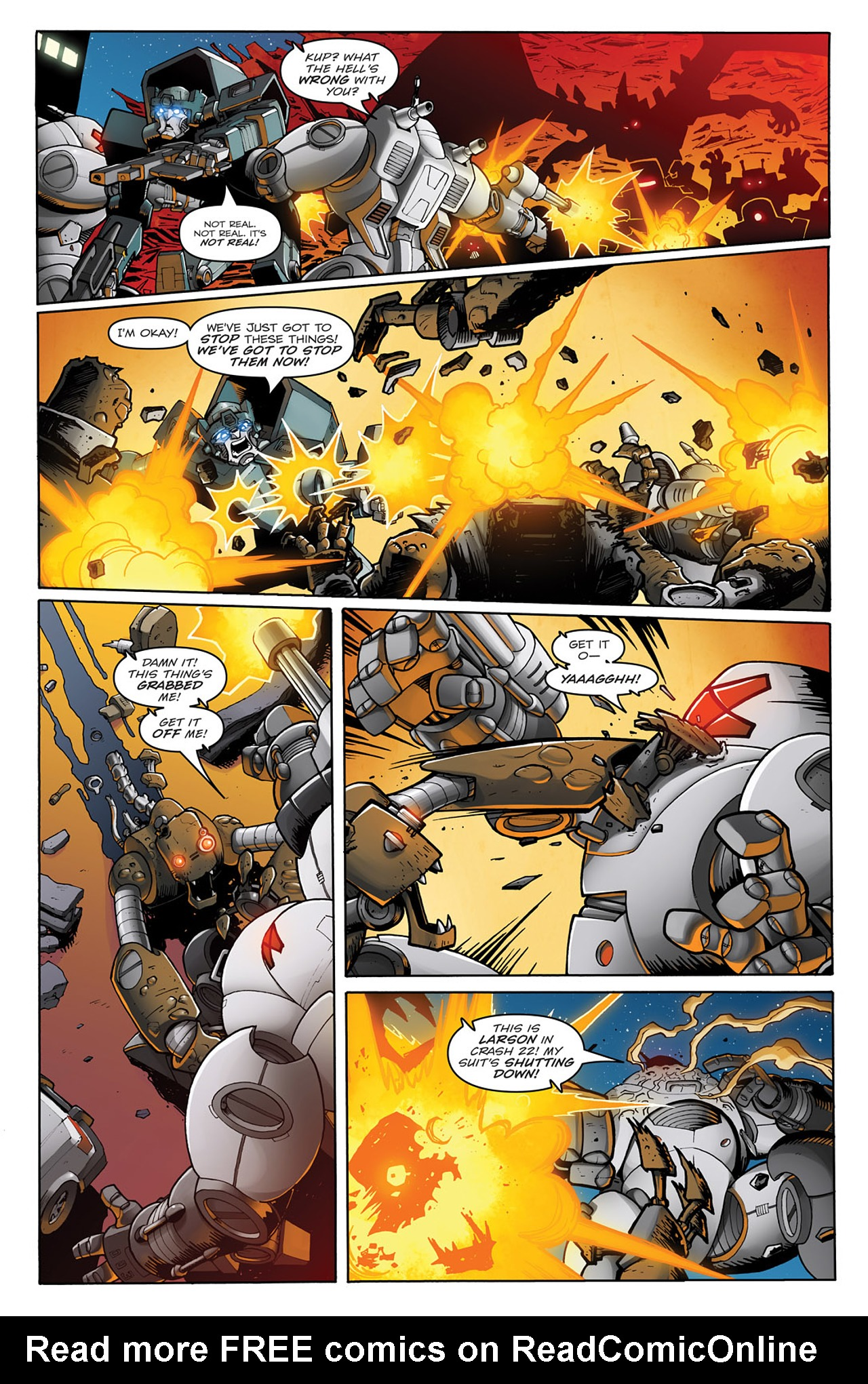 Read online Transformers: Infestation comic -  Issue #1 - 15