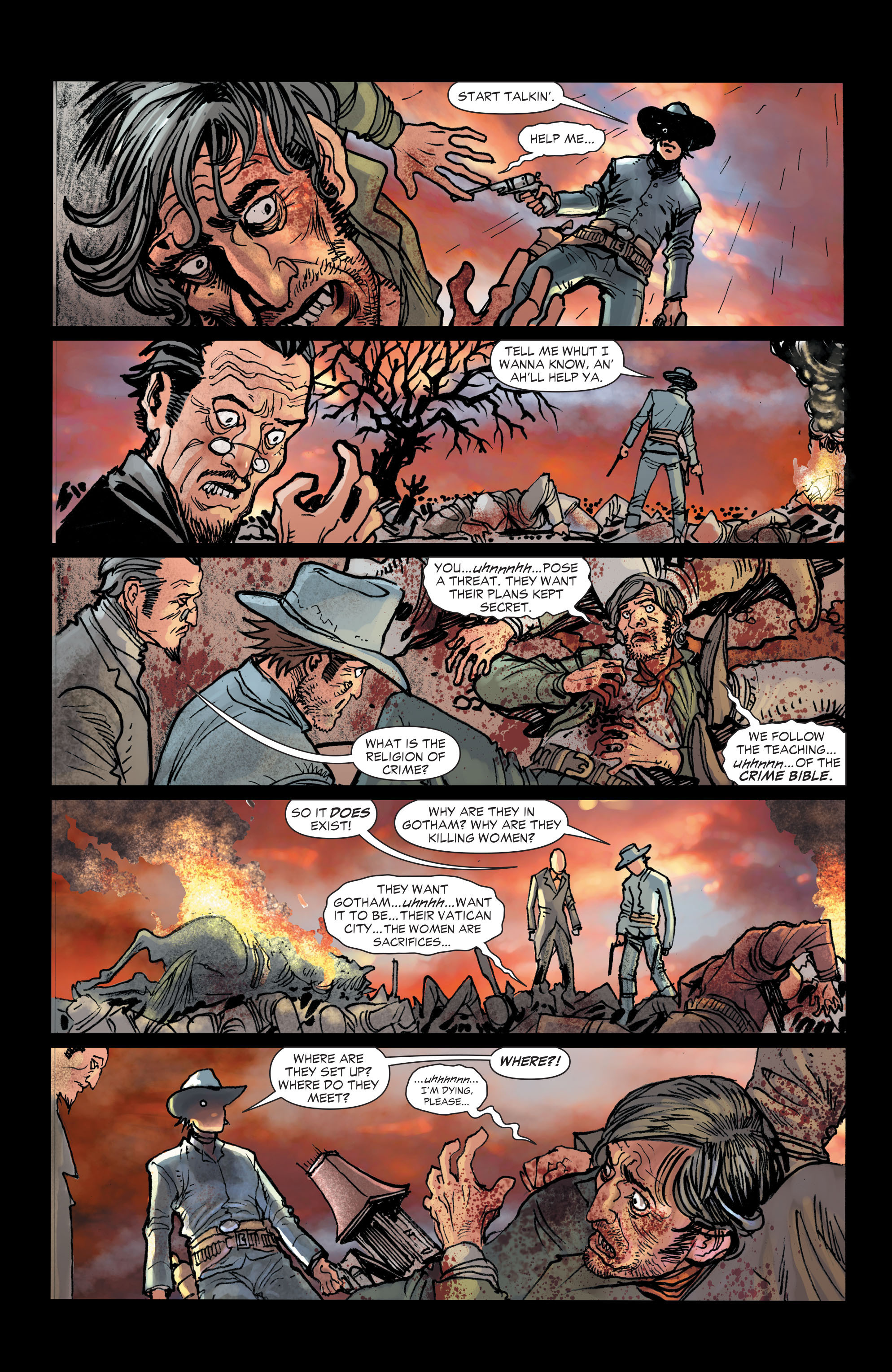 Read online All-Star Western (2011) comic -  Issue #2 - 11