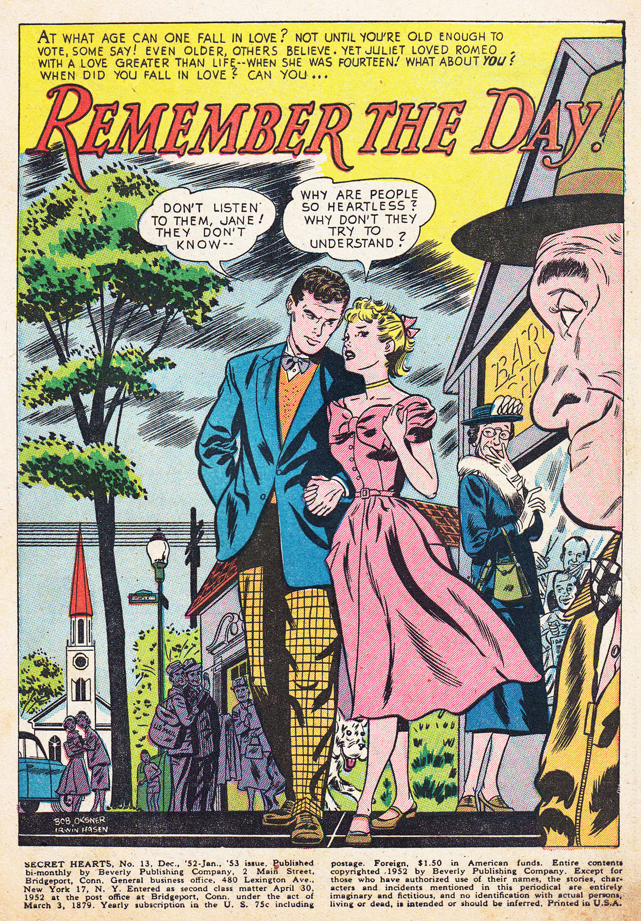 Read online Secret Hearts comic -  Issue #13 - 3