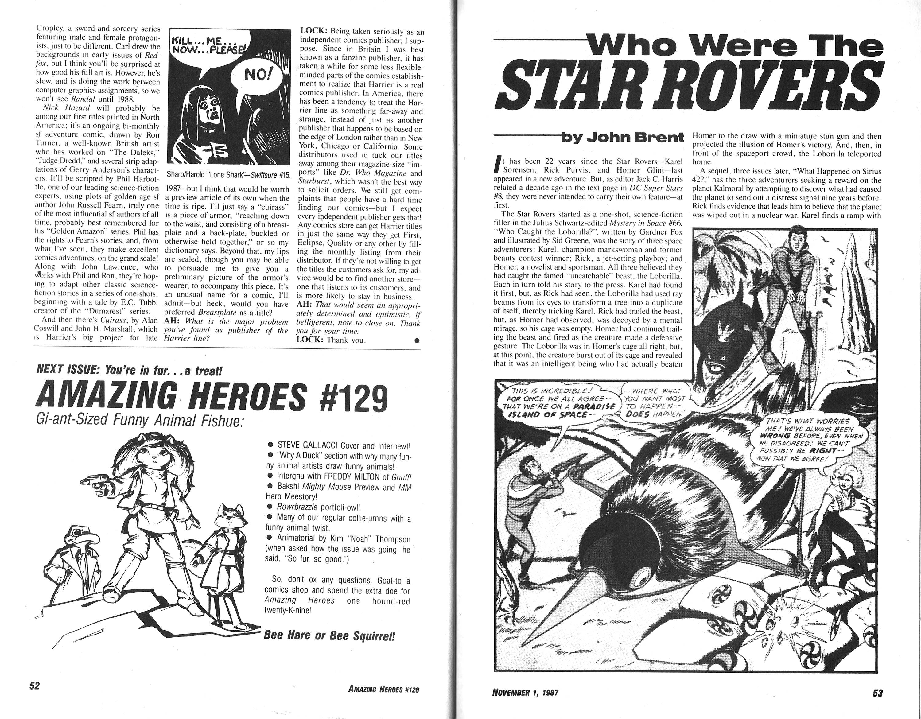 Read online Amazing Heroes comic -  Issue #128 - 27