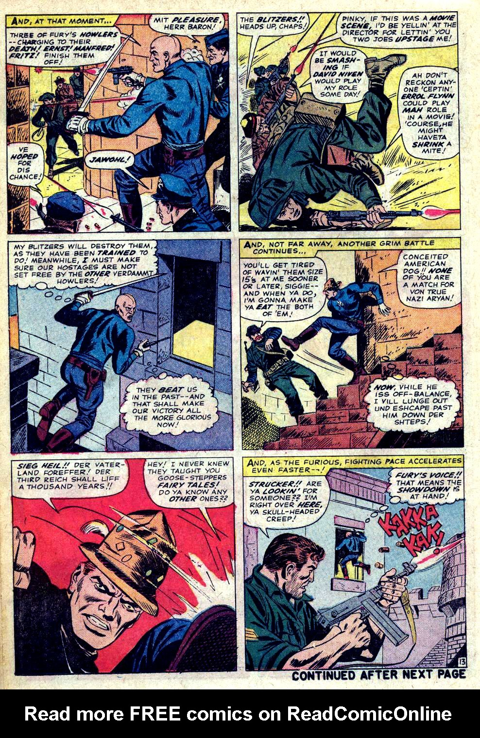 Read online Sgt. Fury comic -  Issue #20 - 18