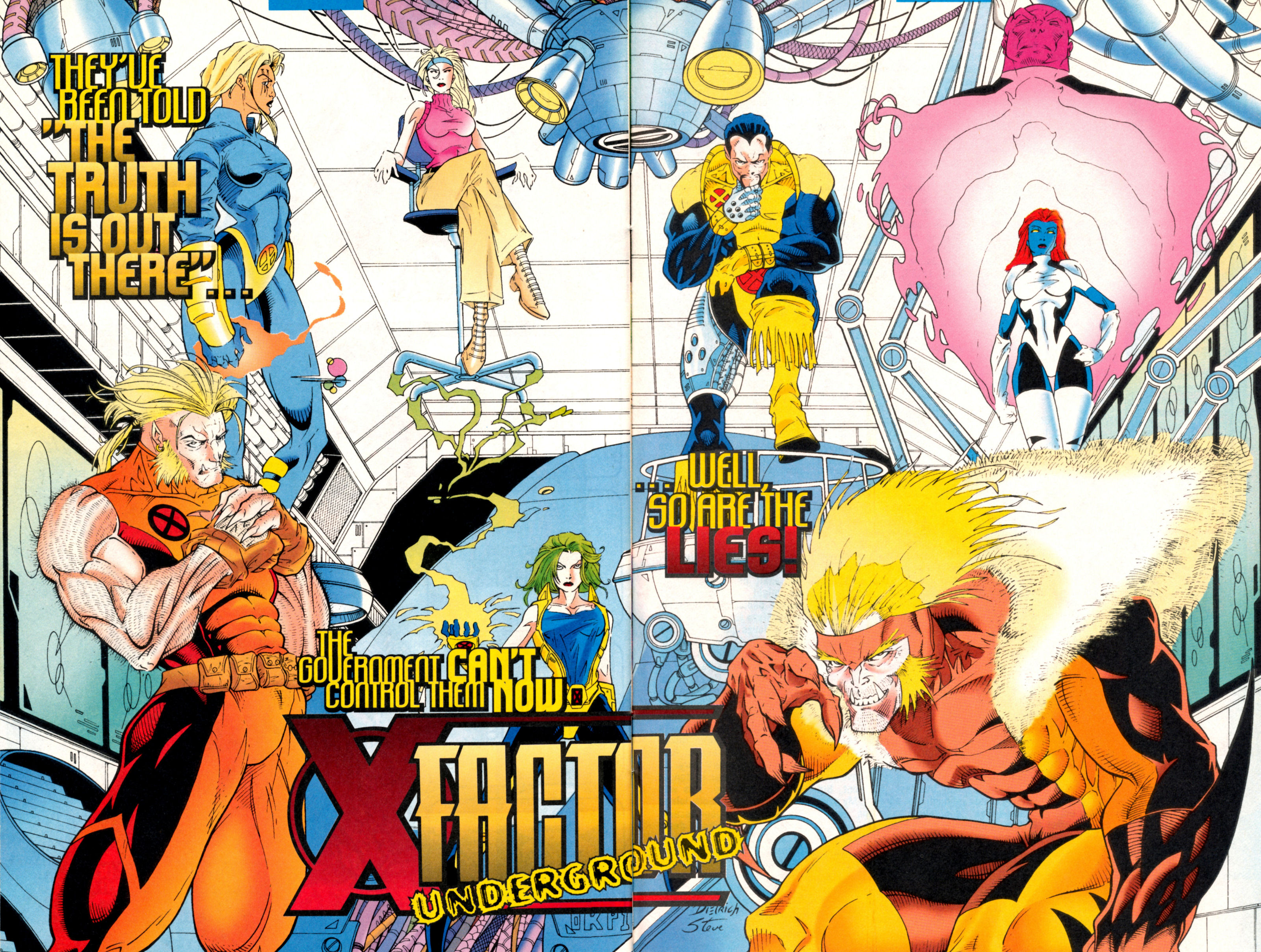 Read online X-Factor (1986) comic -  Issue #130 - 32