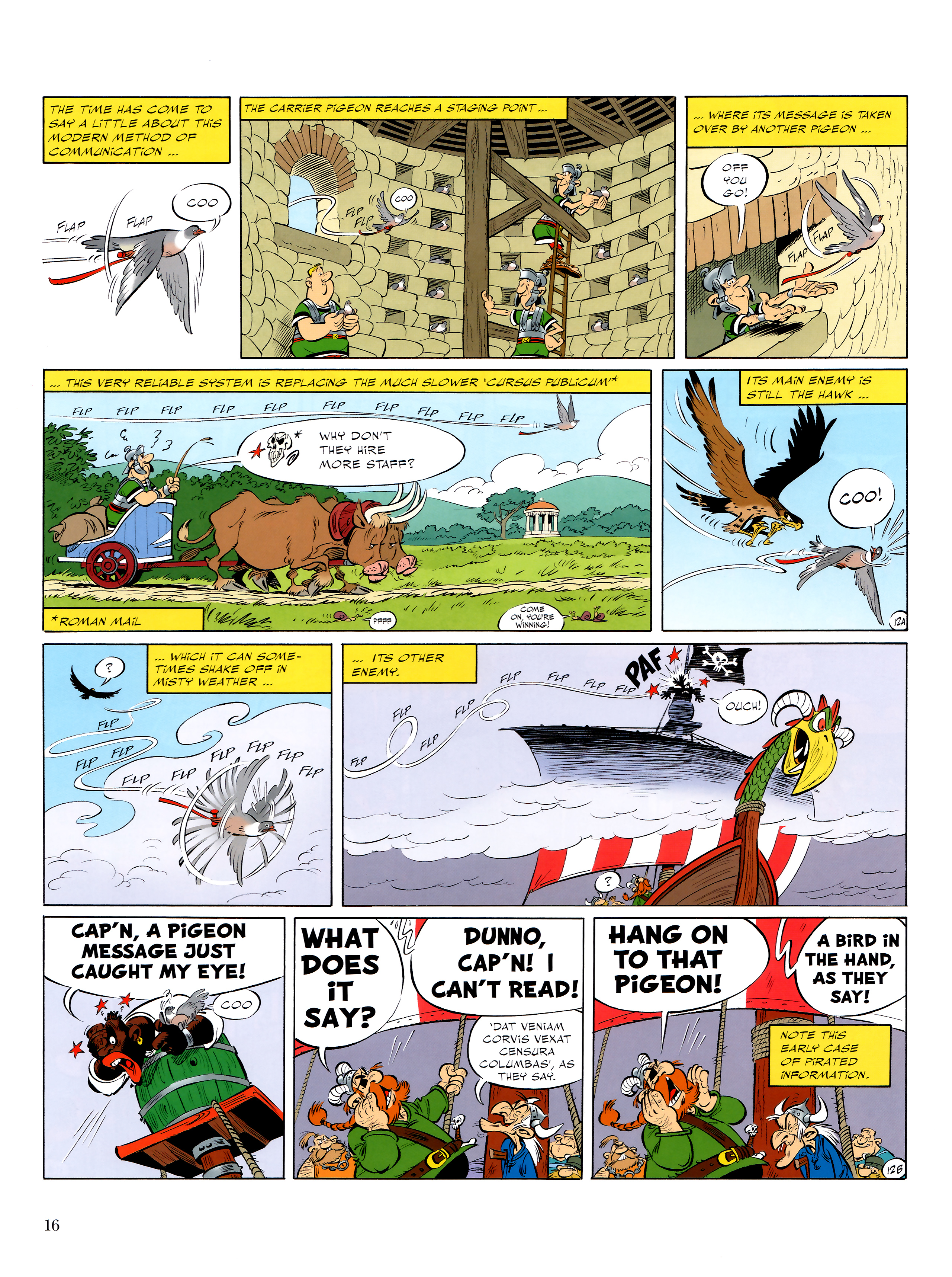 Read online Asterix comic -  Issue #36 - 17