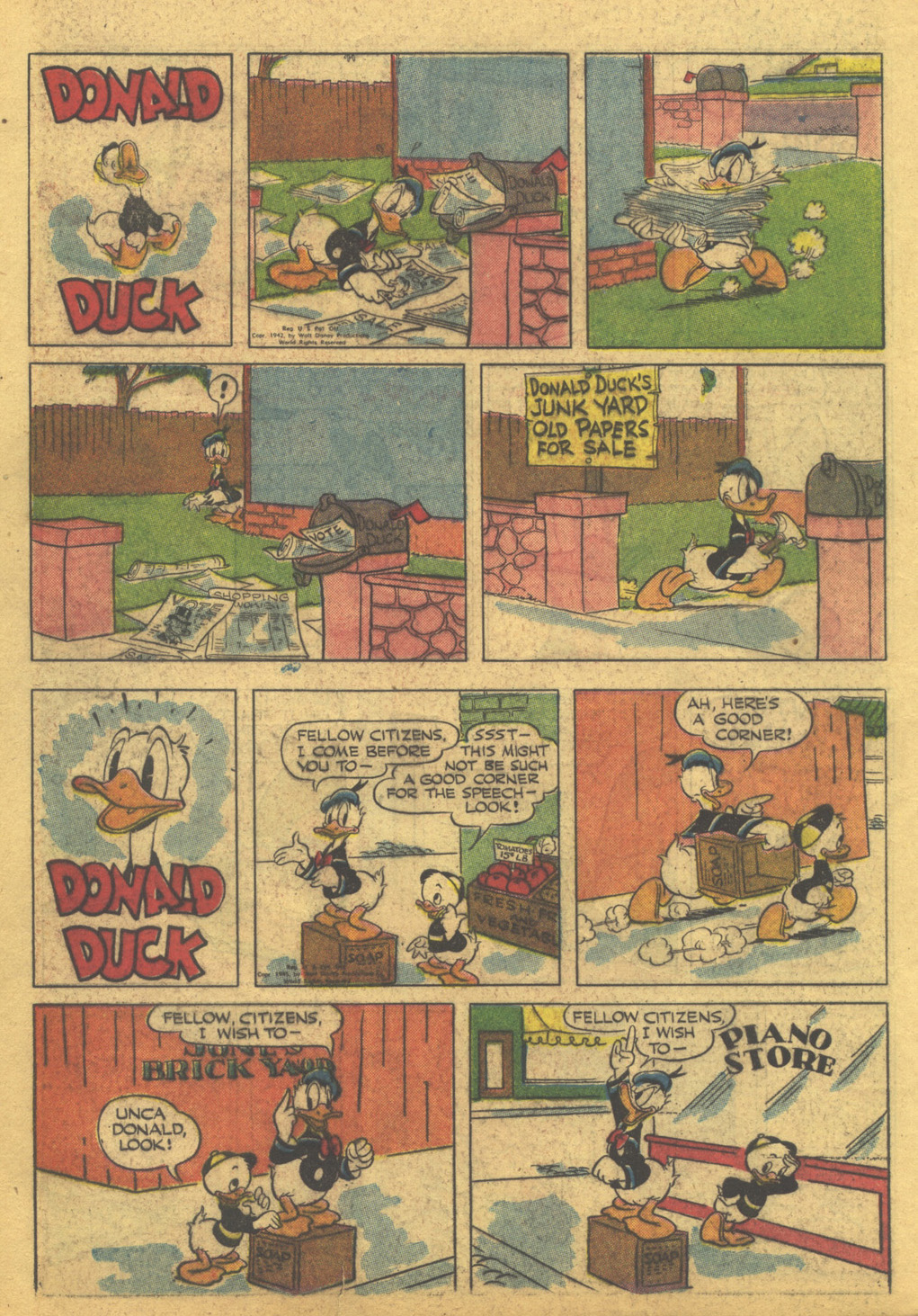 Walt Disney's Comics and Stories issue 86 - Page 42