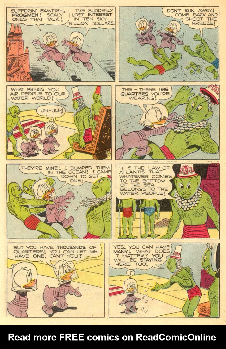 Read online Uncle Scrooge (1953) comic -  Issue #5 - 22