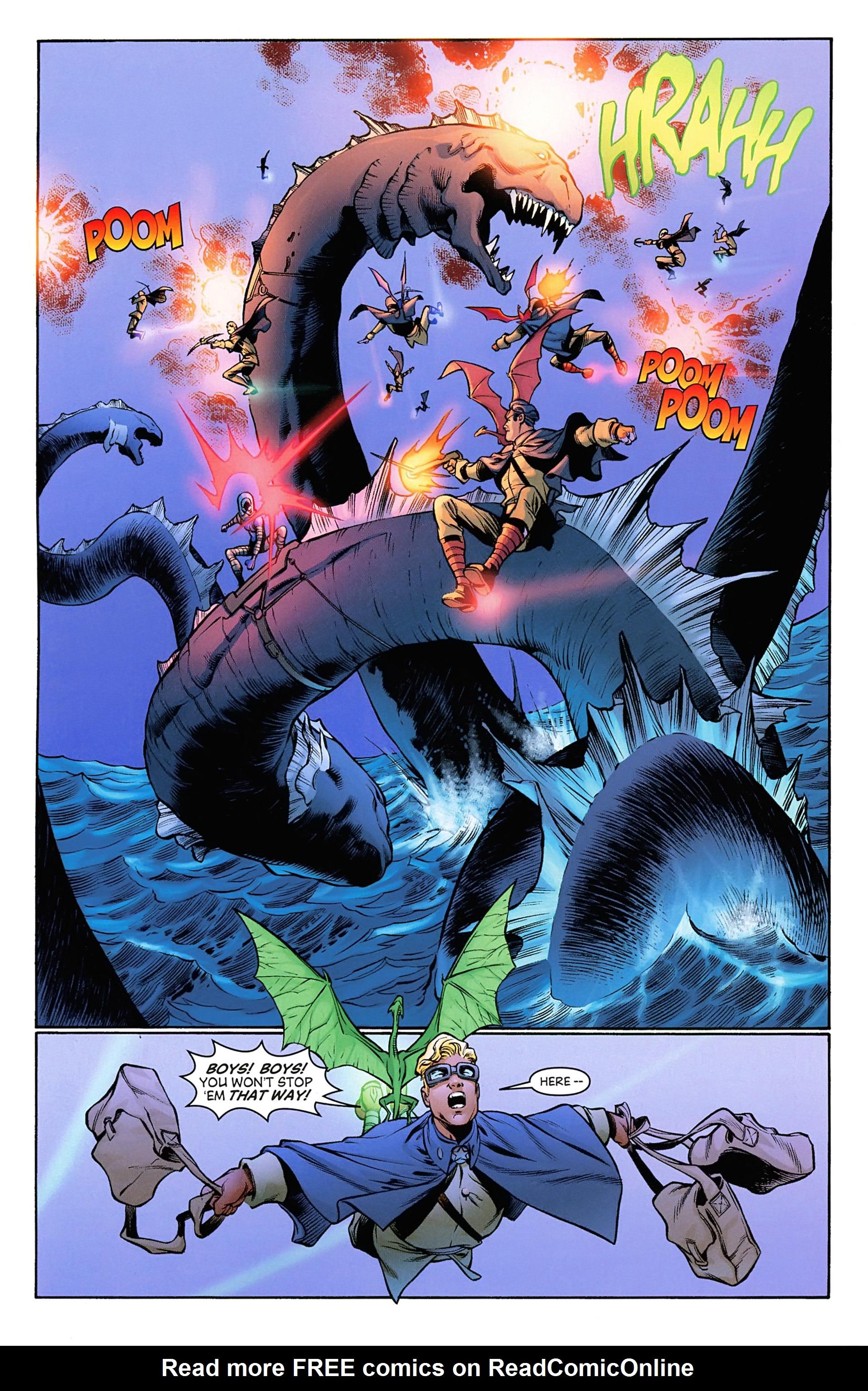 Read online Arrowsmith comic -  Issue #3 - 10