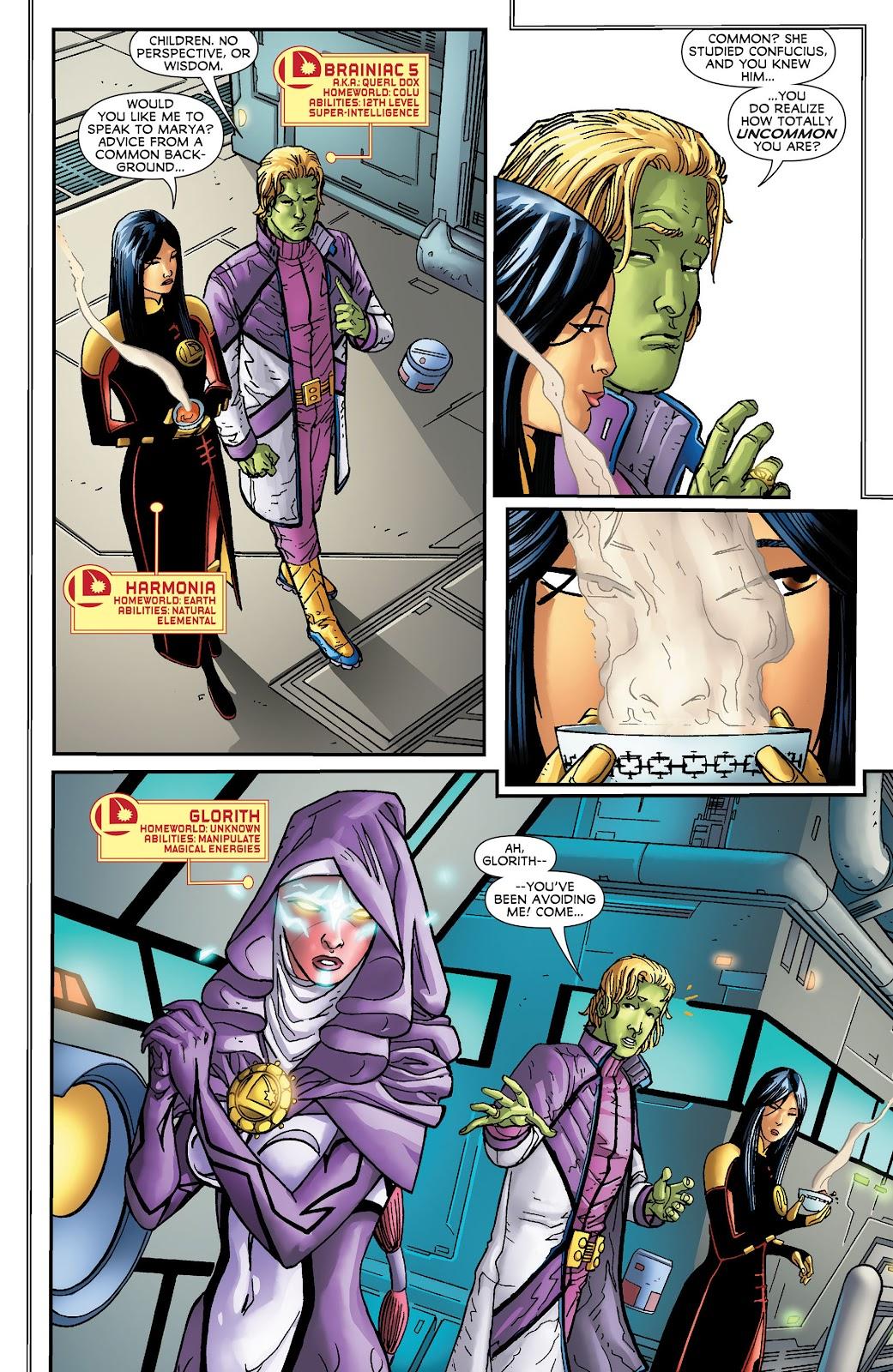 Legion of Super-Heroes (2011) Issue #16 #17 - English 4