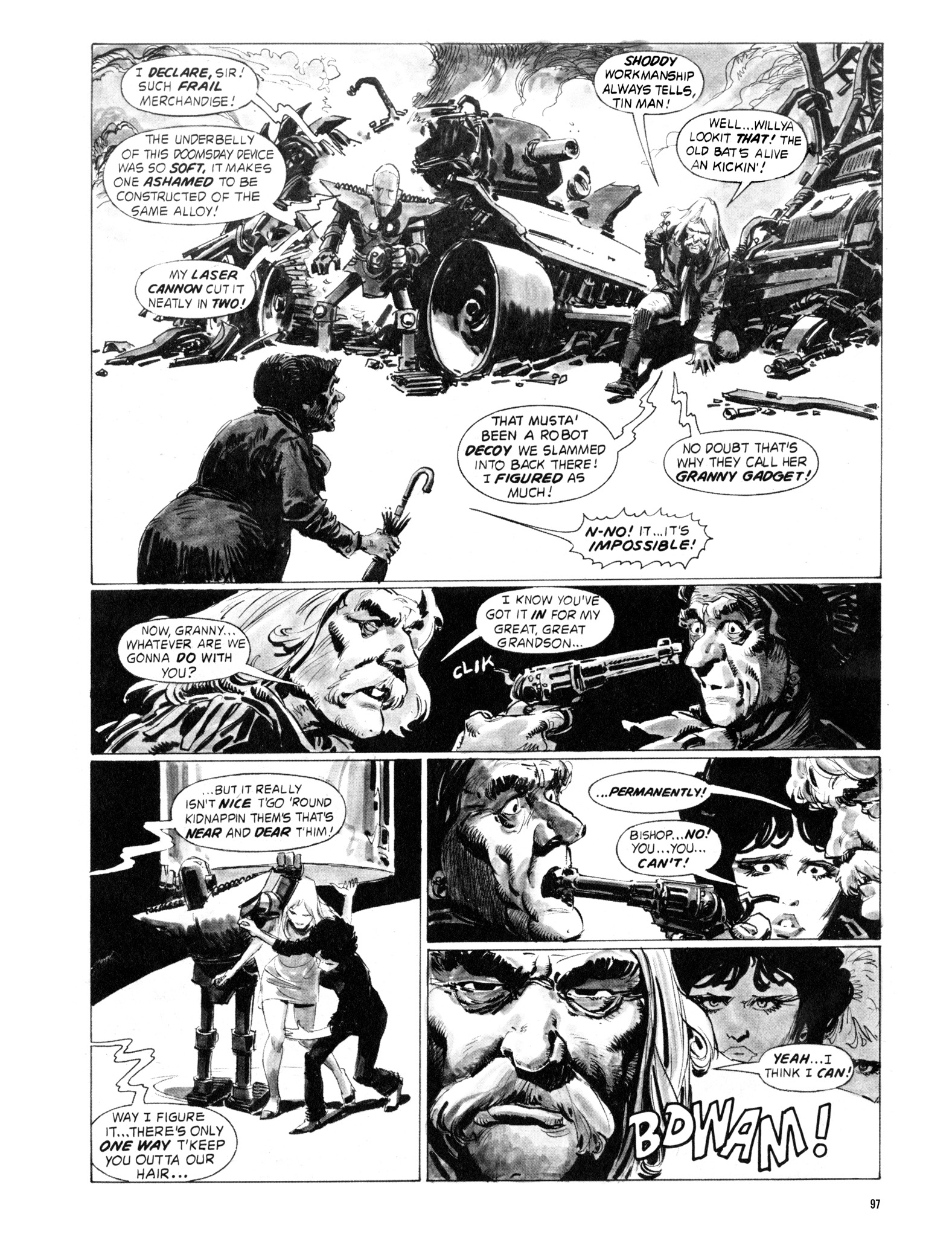 Read online Eerie Archives comic -  Issue # TPB 18 - 98