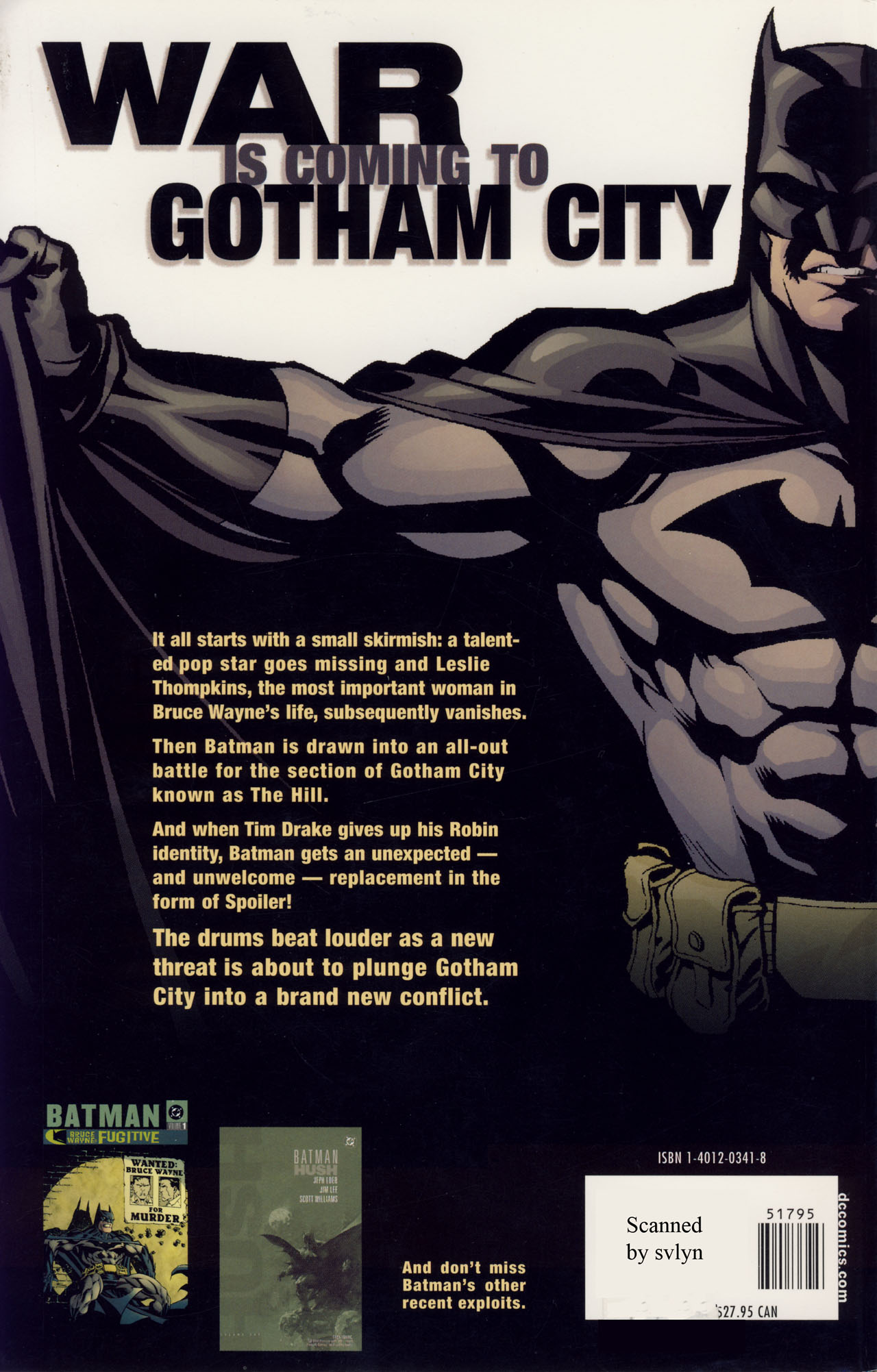 Read online Batman War Drums comic -  Issue # TPB - 259