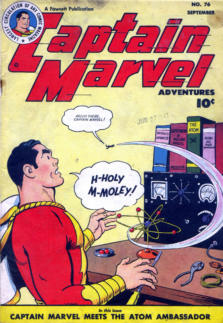 Captain Marvel Adventures 76 Page 1