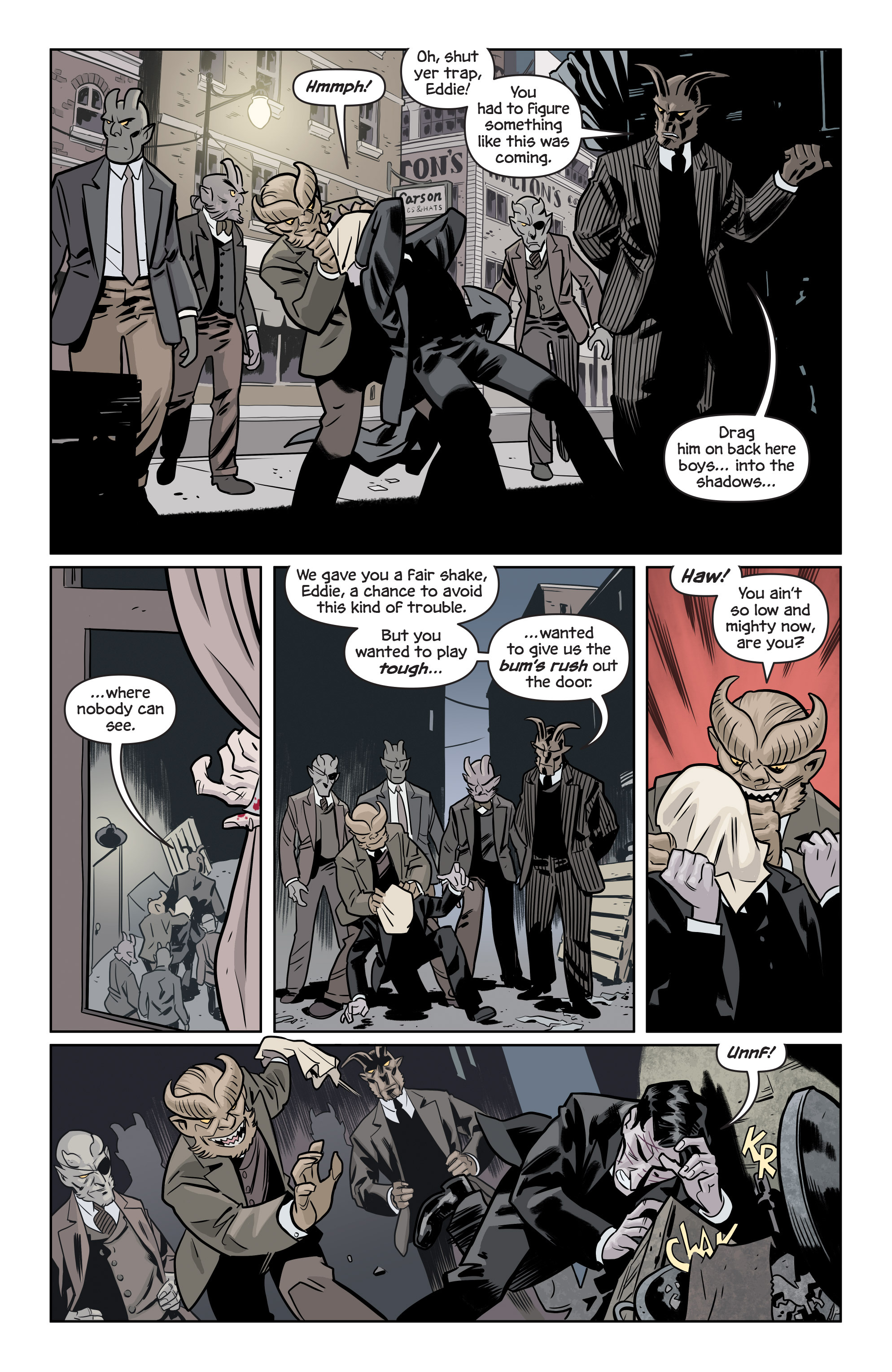 Read online The Damned comic -  Issue #1 - 21