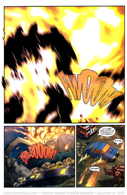 Read online Transformers Armada comic -  Issue #17 - 17