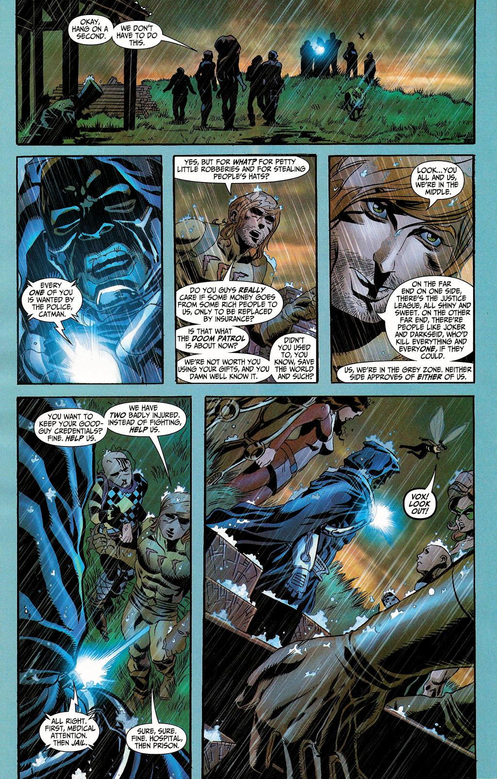 Read online Secret Six (2006) comic -  Issue #4 - 8
