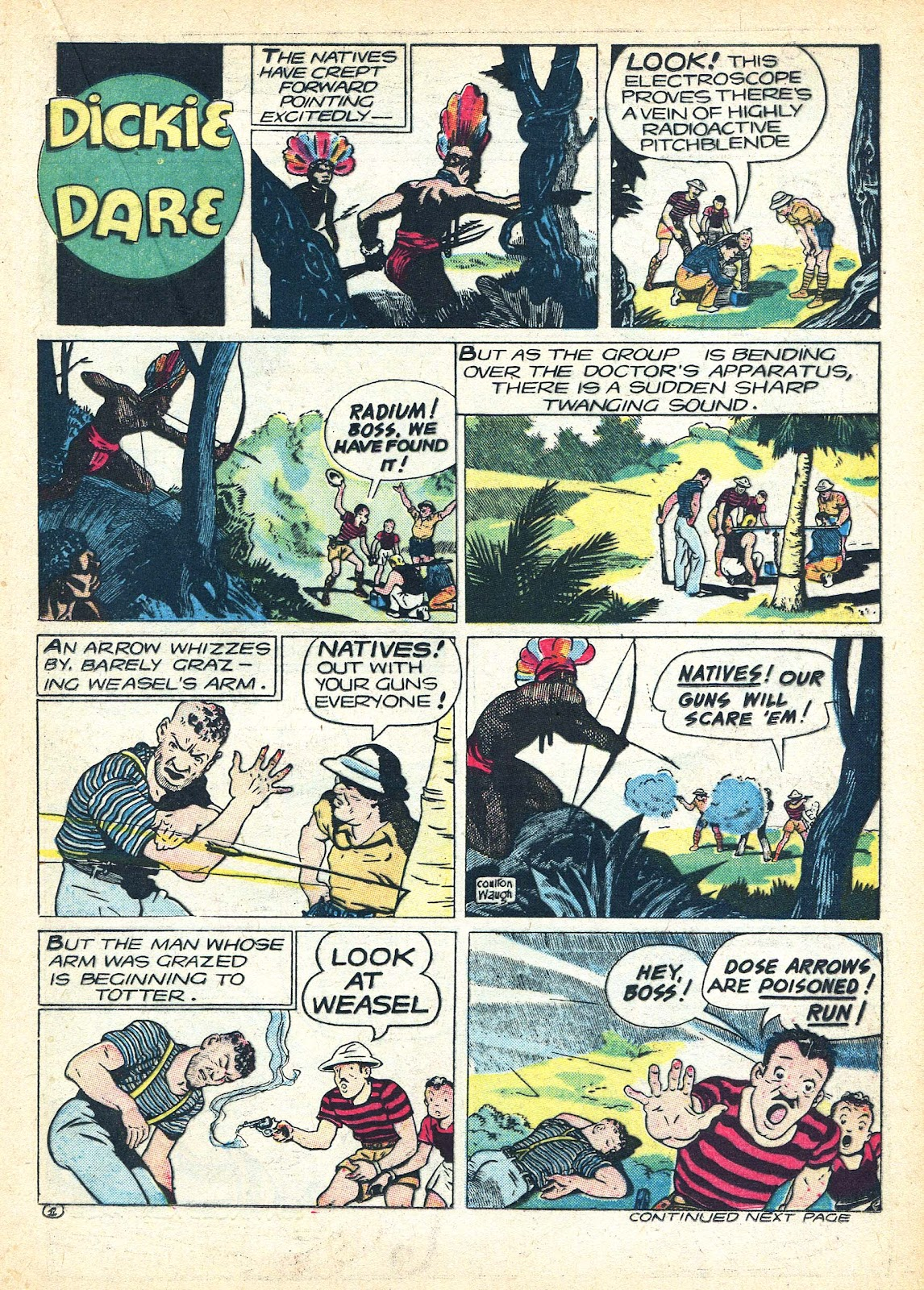 Read online Famous Funnies comic -  Issue #95 - 25