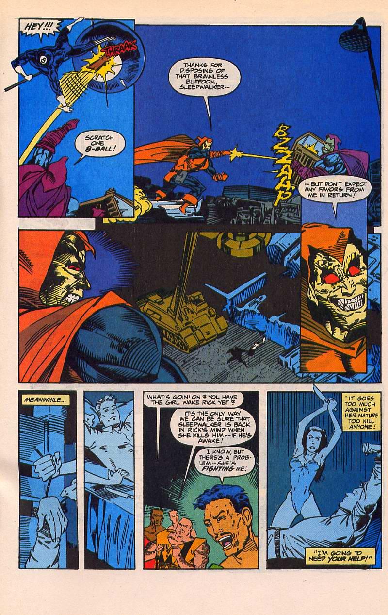 Read online Sleepwalker comic -  Issue #21 - 22