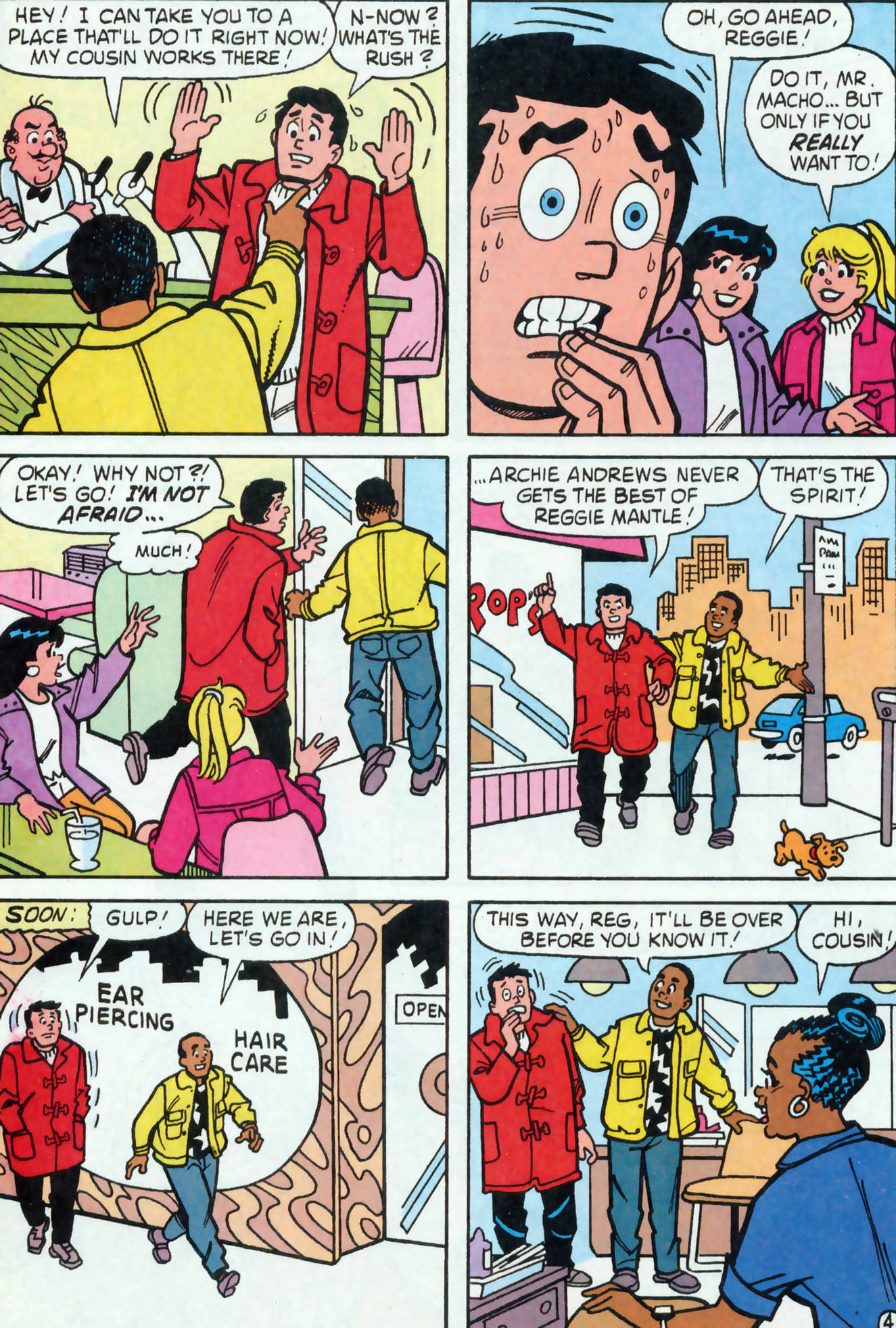 Read online Archie (1960) comic -  Issue #455 - 22