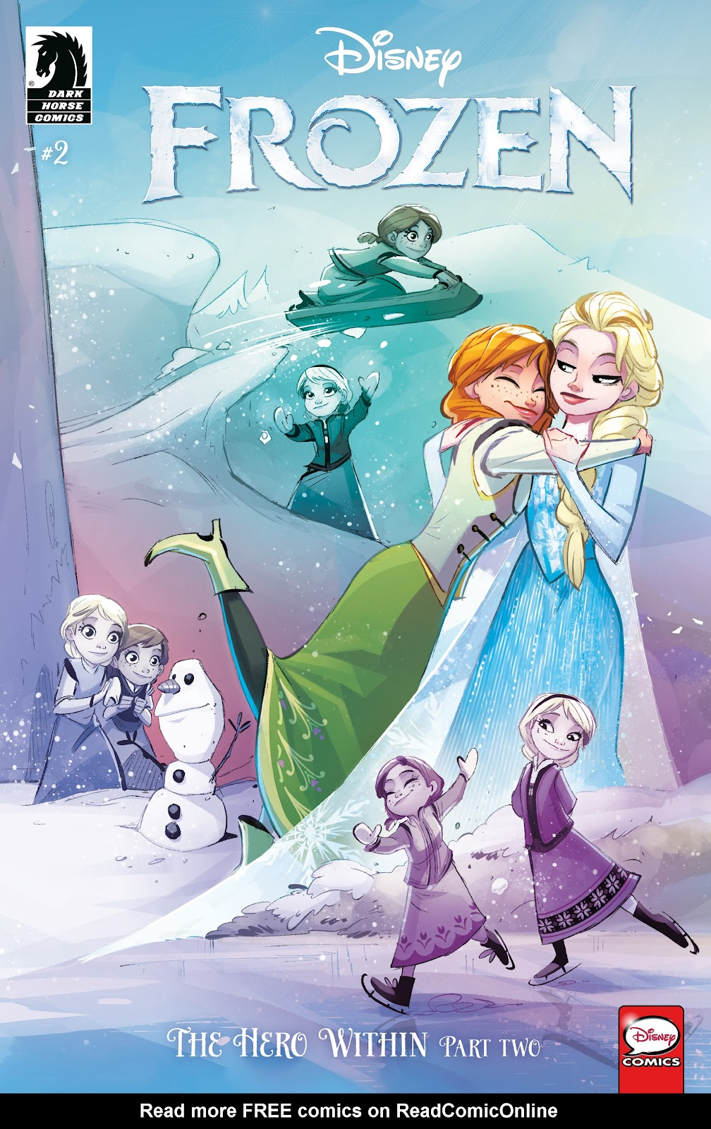 Read online Disney Frozen: The Hero Within comic -  Issue #2 - 1