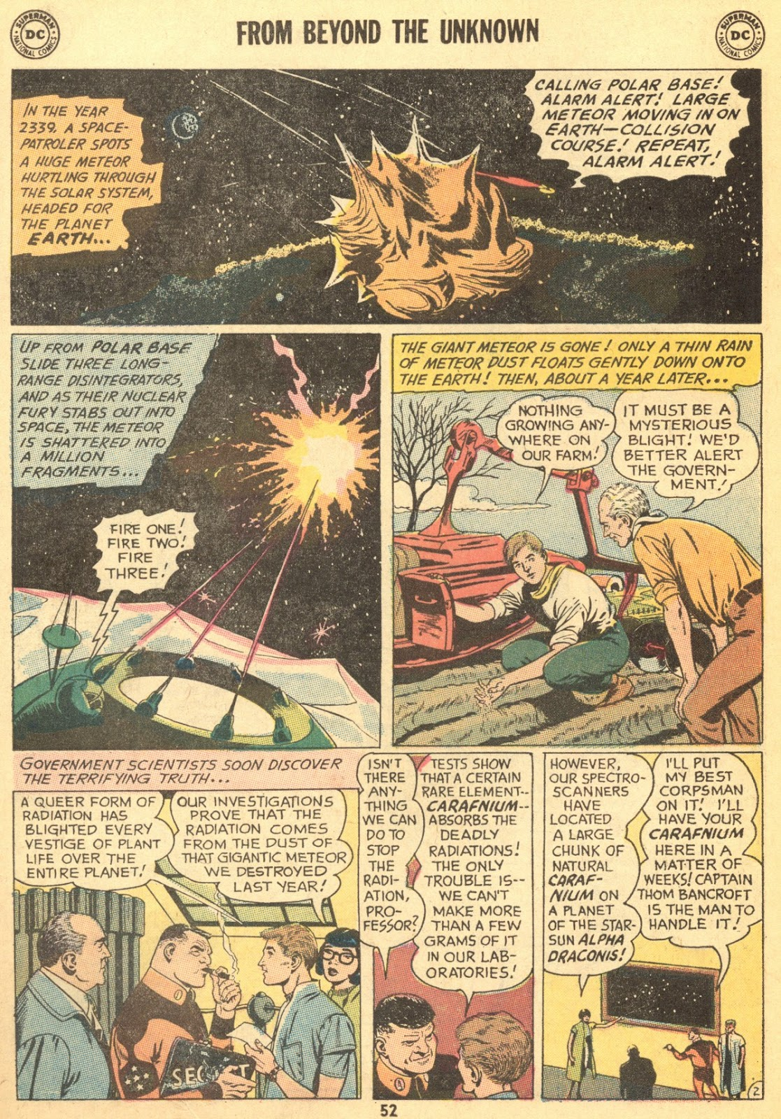 From Beyond the Unknown (1969) issue 9 - Page 54