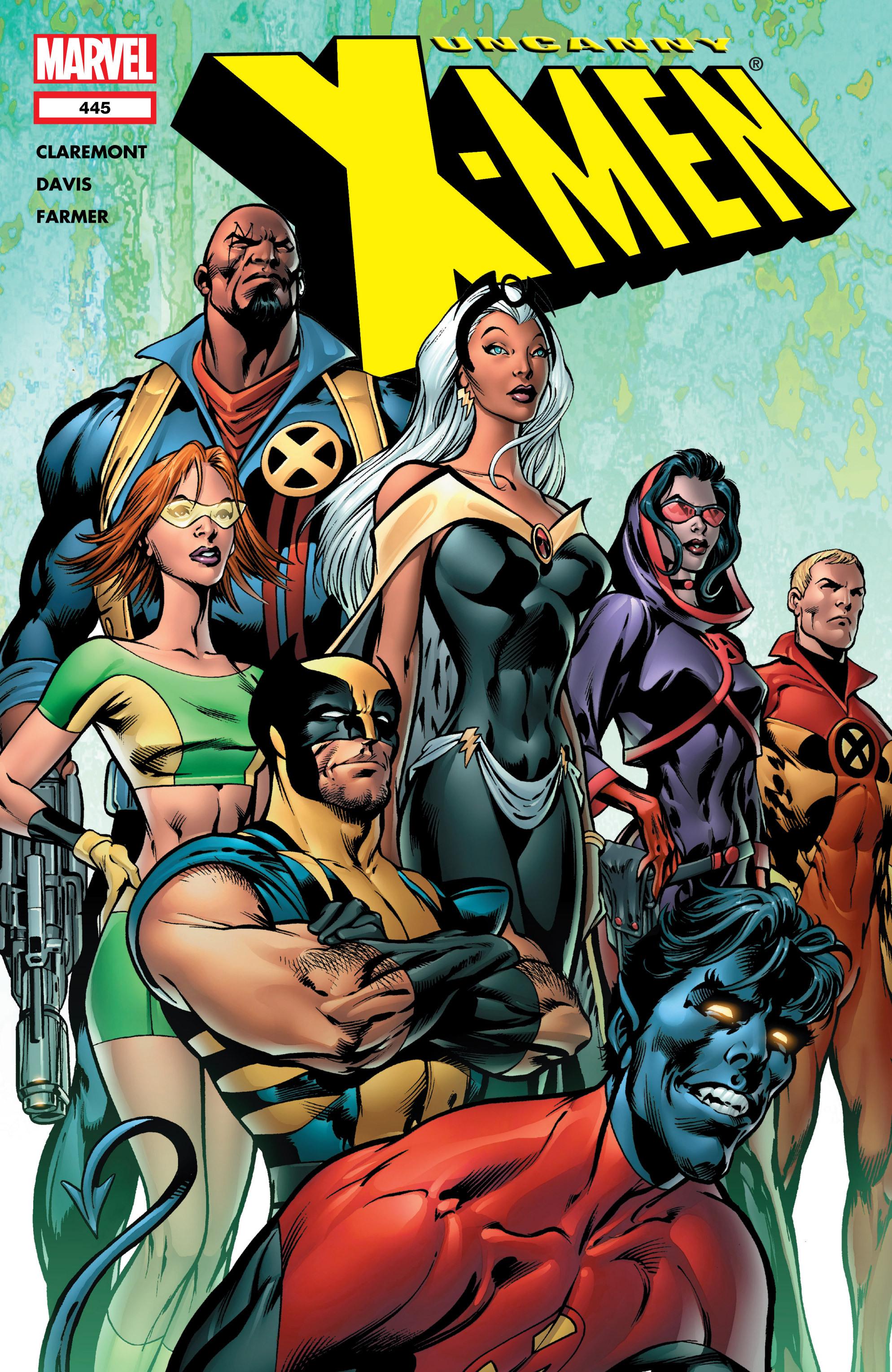 Uncanny X-Men (1963) 445 Page 1