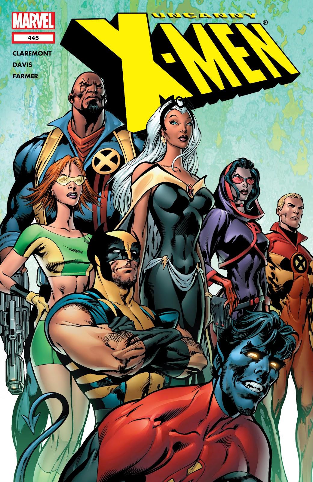 Uncanny X-Men (1963) issue 445 - Page 1