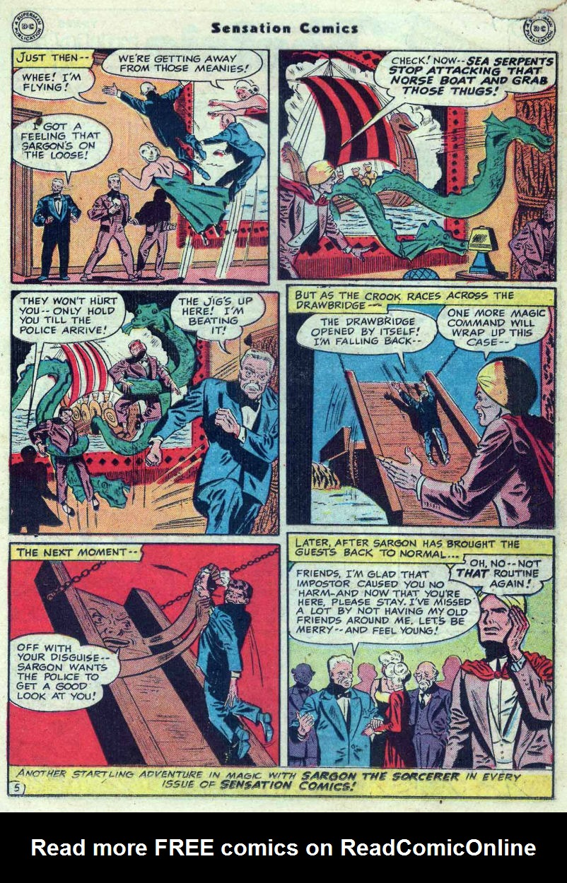 Read online Sensation (Mystery) Comics comic -  Issue #82 - 29