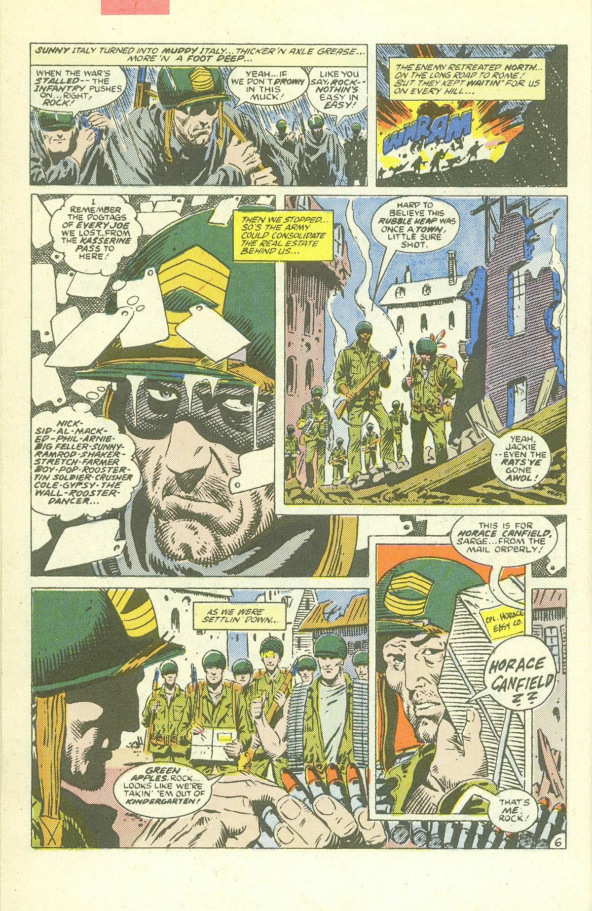 Read online Sgt. Rock comic -  Issue #409 - 9
