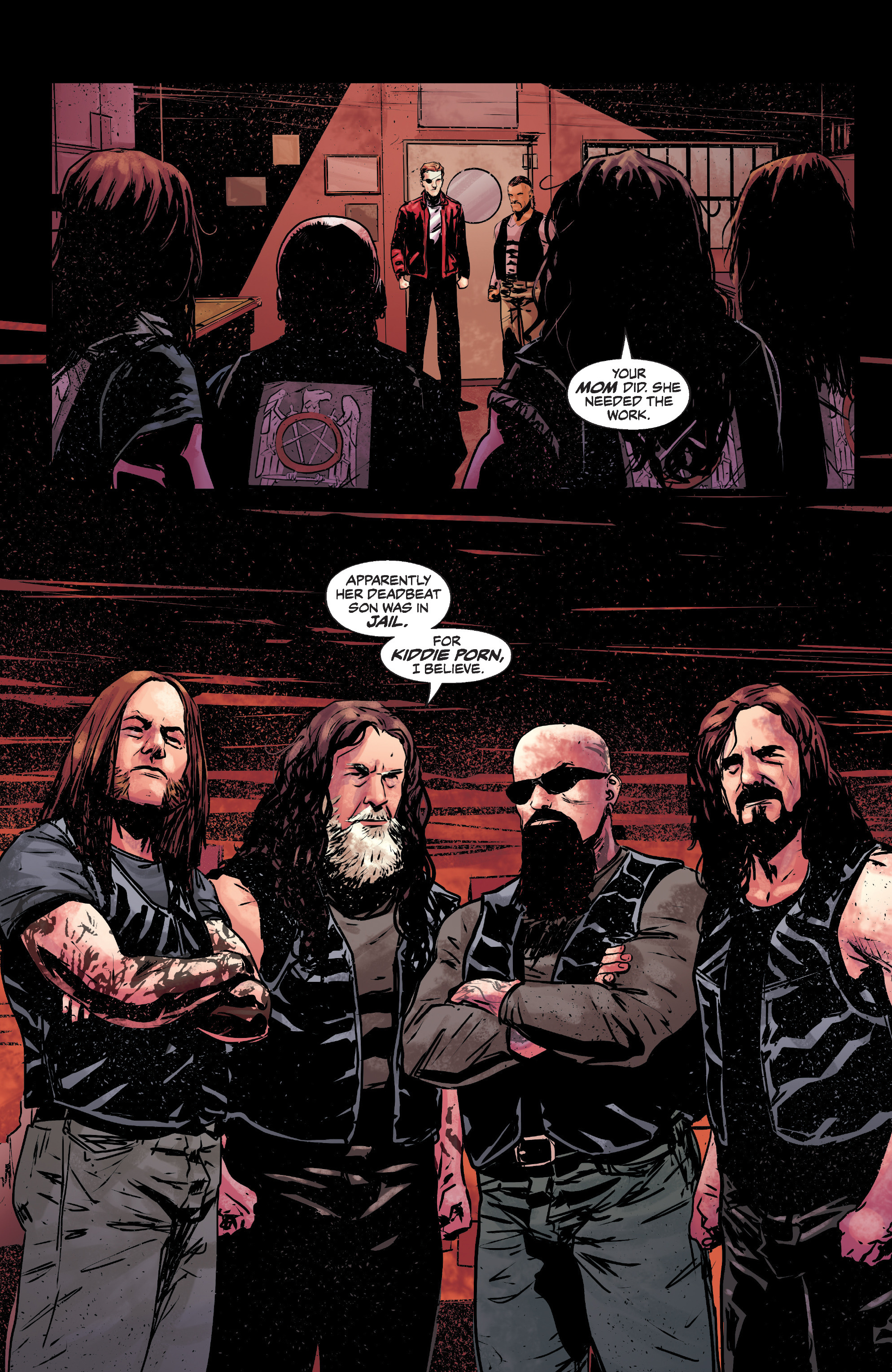 Read online Slayer: Repentless comic -  Issue #1 - 24