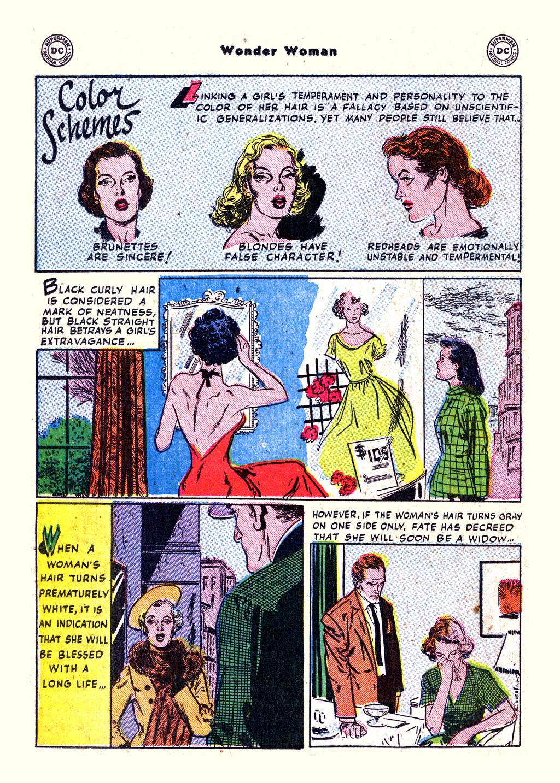 Read online Wonder Woman (1942) comic -  Issue #59 - 24