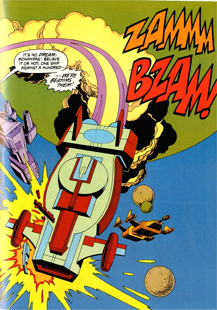 Read online Atari Force (1982) comic -  Issue #5 - 39