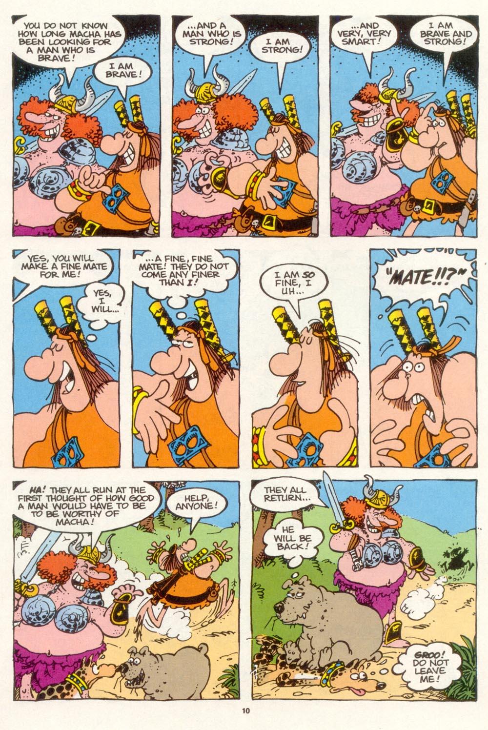Read online Sergio Aragonés Groo the Wanderer comic -  Issue #117 - 12
