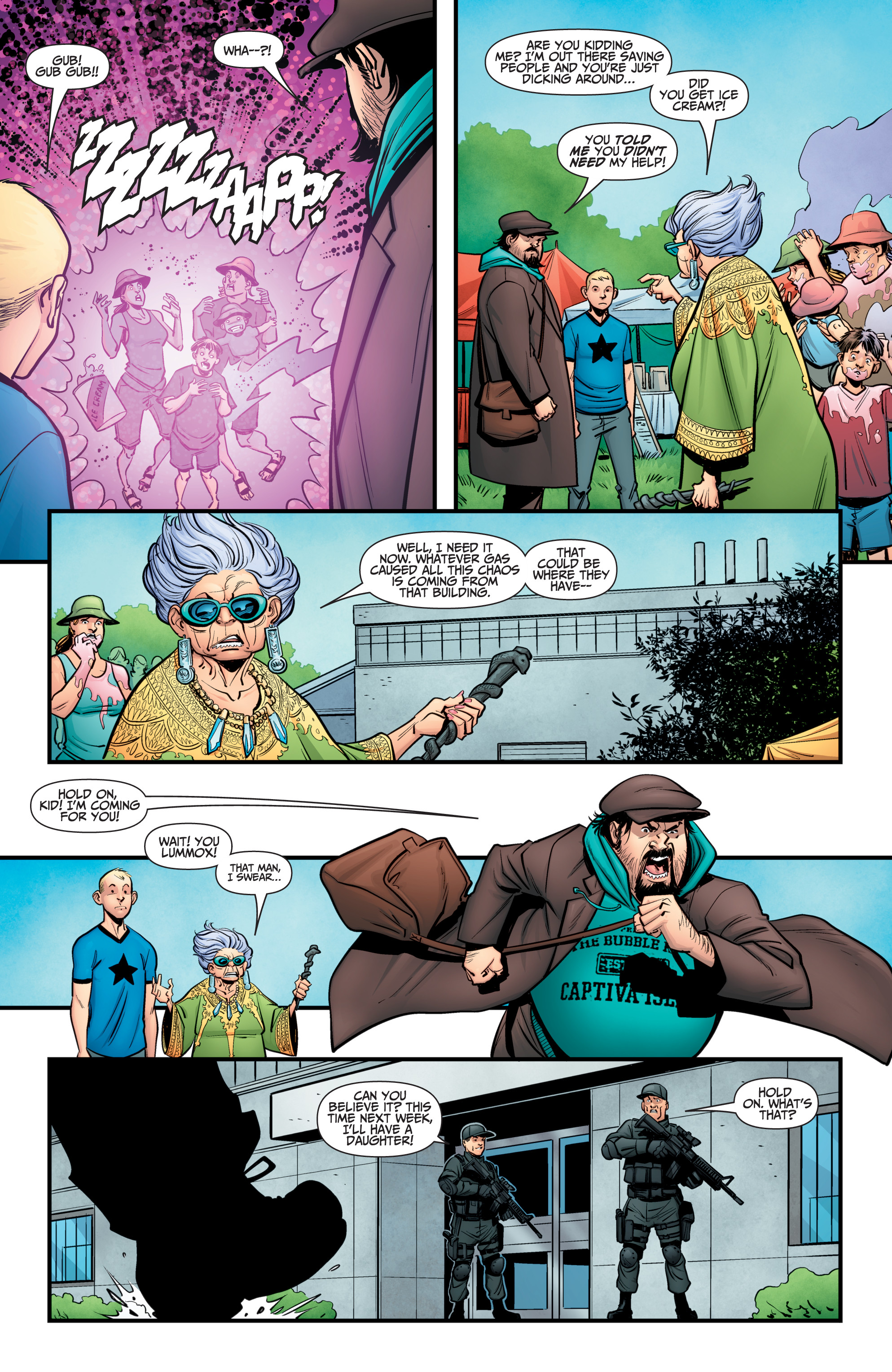 Read online A&A: The Adventures of Archer & Armstrong comic -  Issue #11 - 23