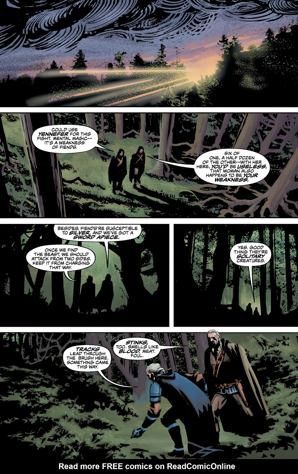 Read online The Witcher Omnibus comic -  Issue # TPB (Part 3) - 66