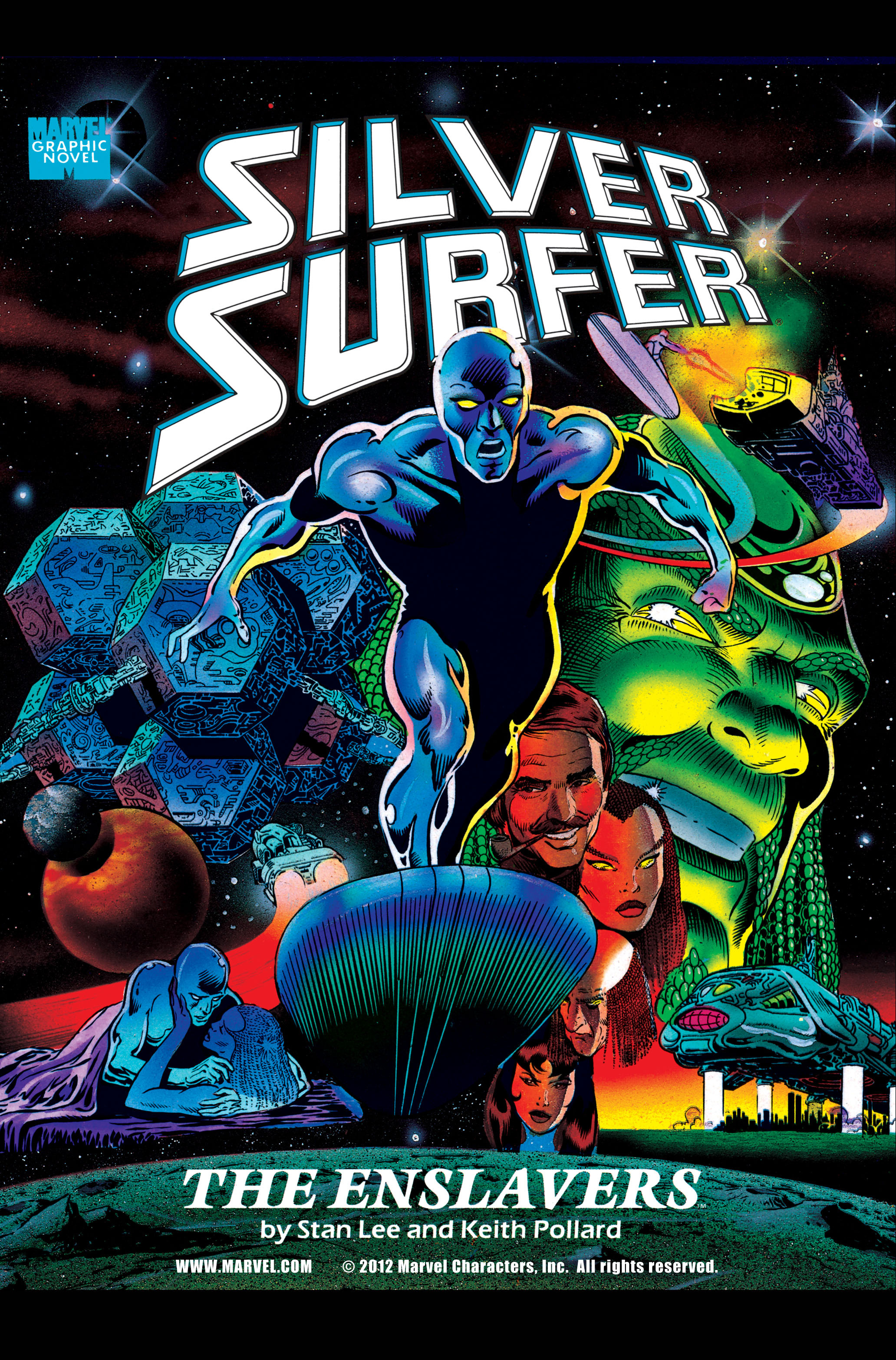 Read online Silver Surfer: Parable comic -  Issue # TPB - 56