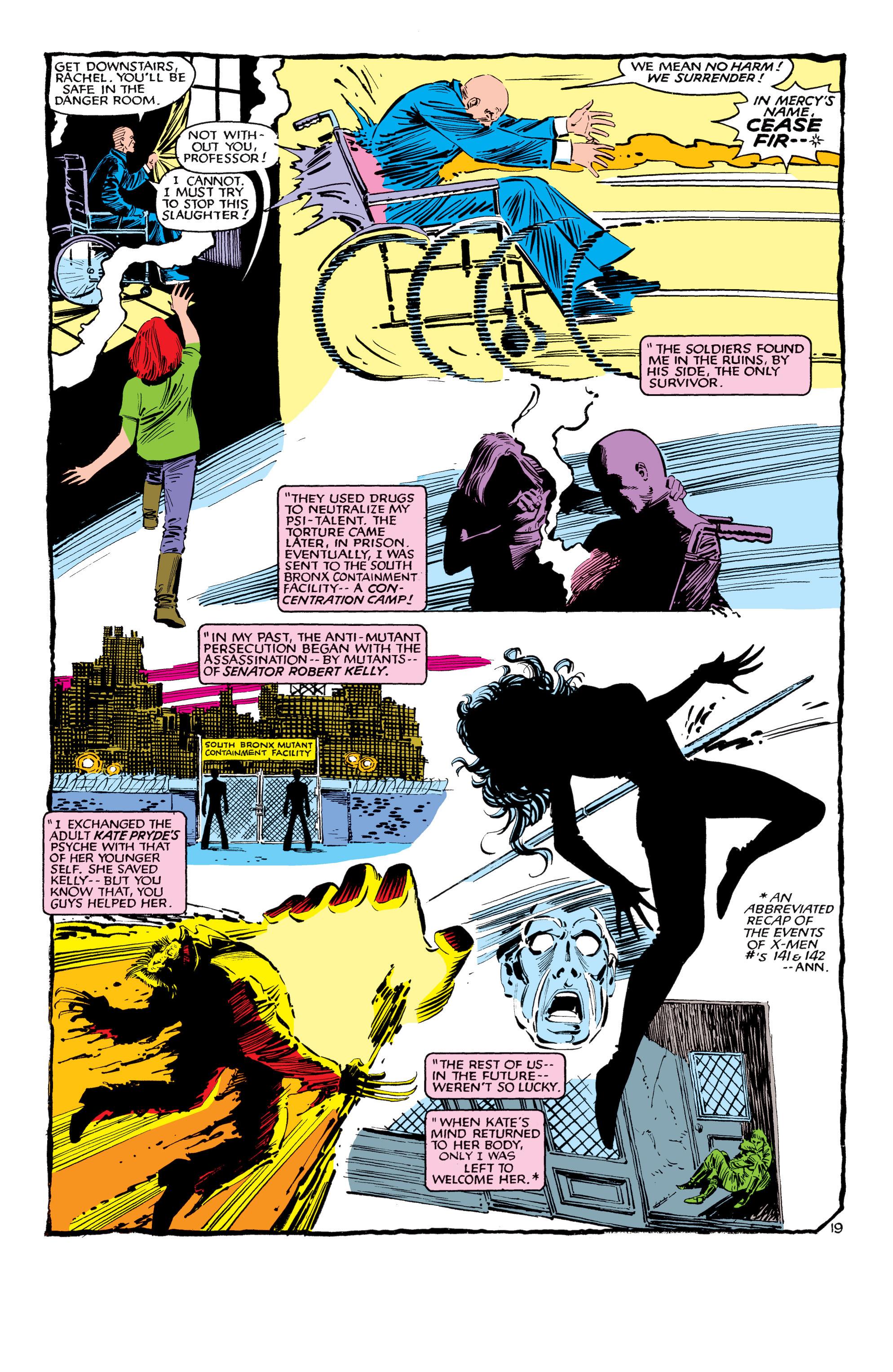 Read online Uncanny X-Men (1963) comic -  Issue #188 - 20