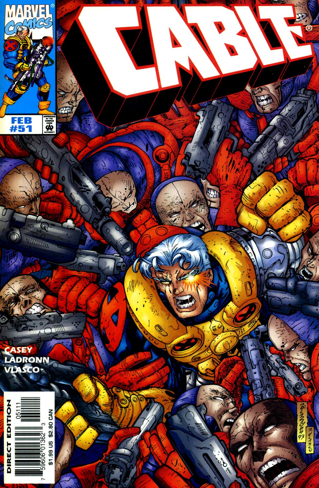 Cable (1993) 51 Page 1