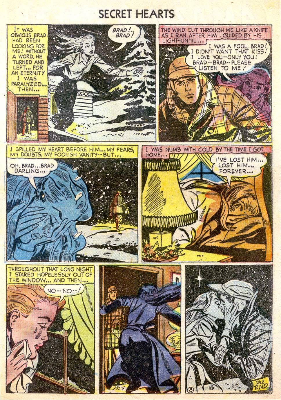Read online Secret Hearts comic -  Issue #26 - 33